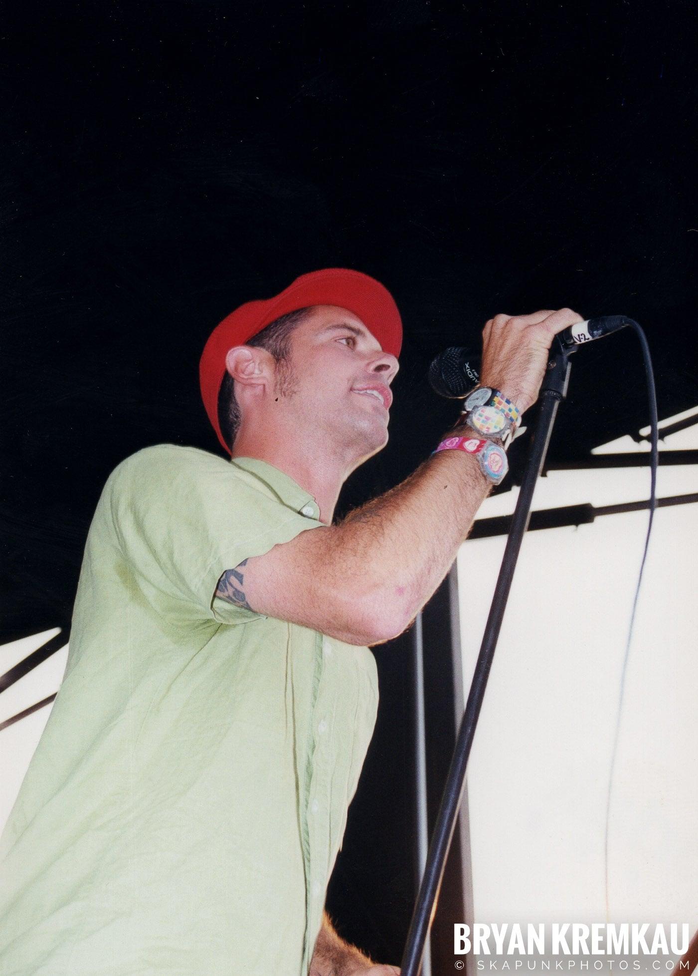 The Bouncing Souls @ Vans Warped Tour, Randall's Island, NYC - 7.16.99 (4)
