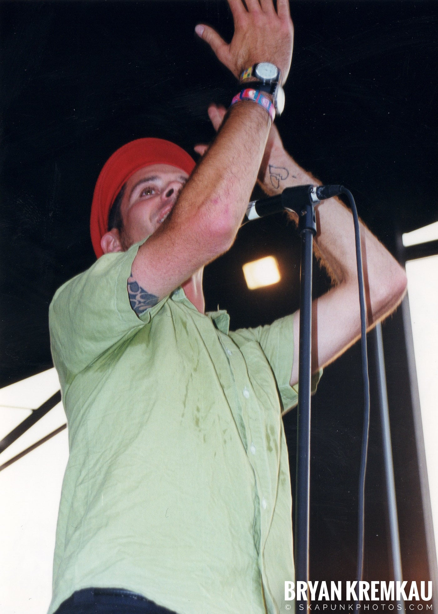 The Bouncing Souls @ Vans Warped Tour, Randall's Island, NYC - 7.16.99 (1)