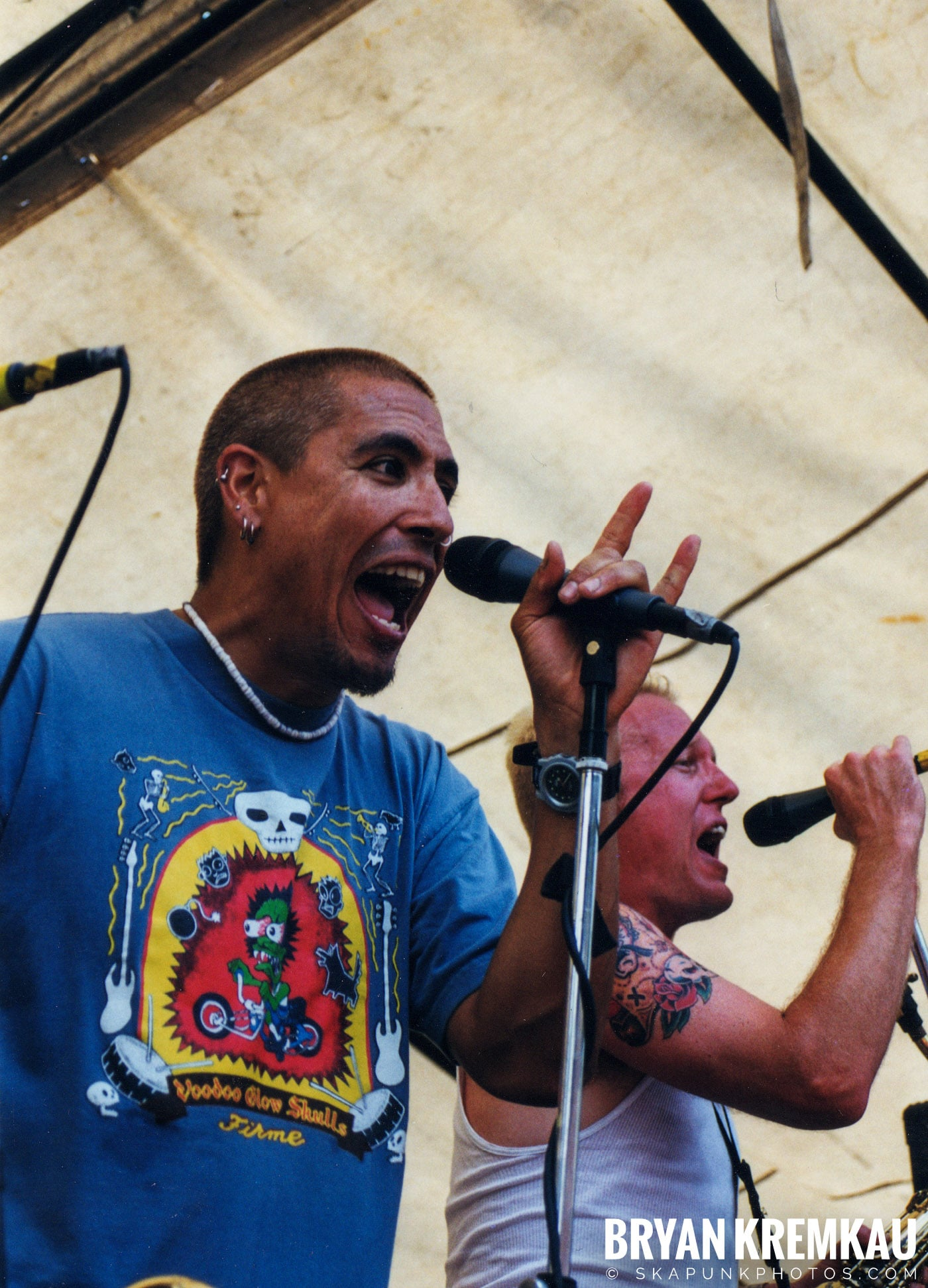 Buck O Nine @ Vans Warped Tour, Randall's Island, NYC - 8.1.98 (10)