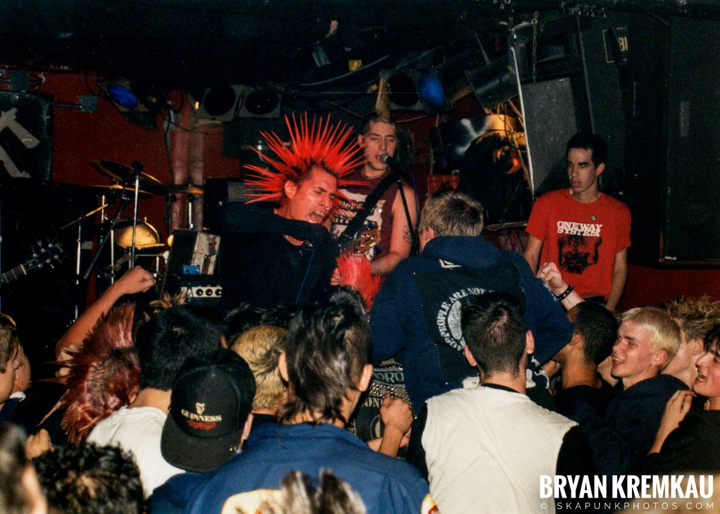 The Casualties @ Coney Island High, NYC - 9.10.98 (7)