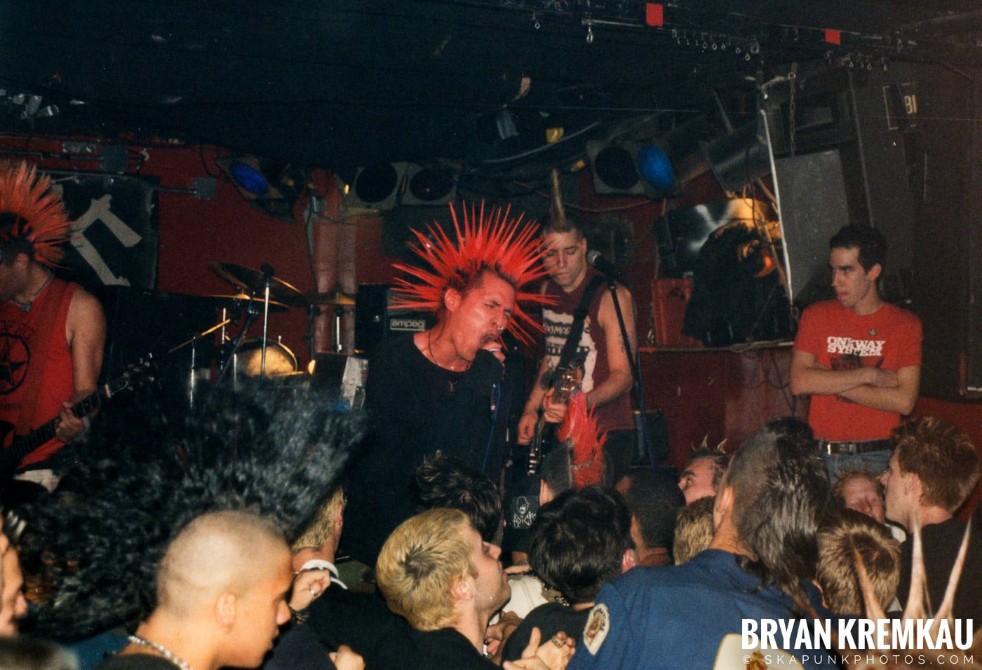 The Casualties @ Coney Island High, NYC - 9.10.98 (6)