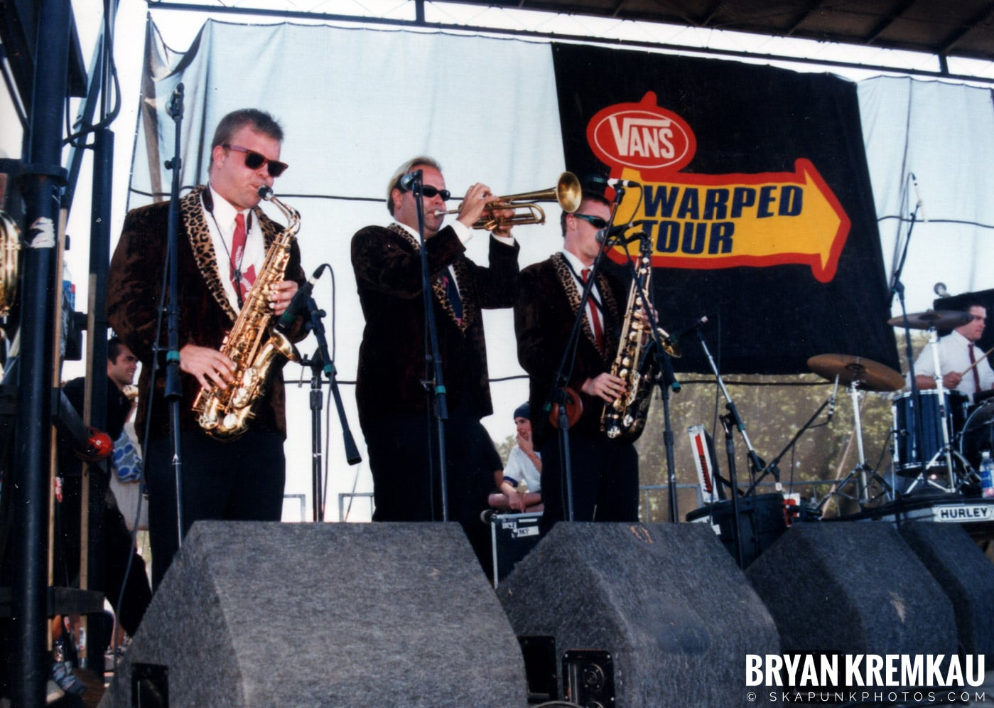 Cherry Poppin' Daddies @ Vans Warped Tour, Randall's Island, NYC - 8.1.98 (16)