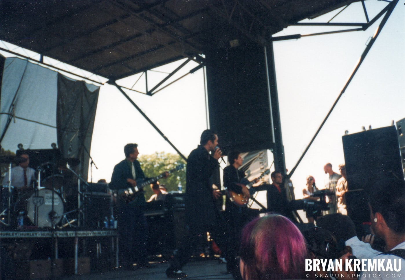 Cherry Poppin' Daddies @ Vans Warped Tour, Randall's Island, NYC - 8.1.98 (13)