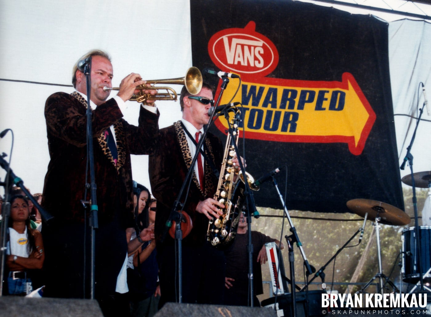 Cherry Poppin' Daddies @ Vans Warped Tour, Randall's Island, NYC - 8.1.98 (9)