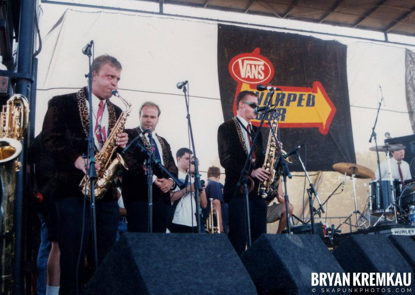 Cherry Poppin' Daddies @ Vans Warped Tour, Randall's Island, NYC - 8.1.98 (2)