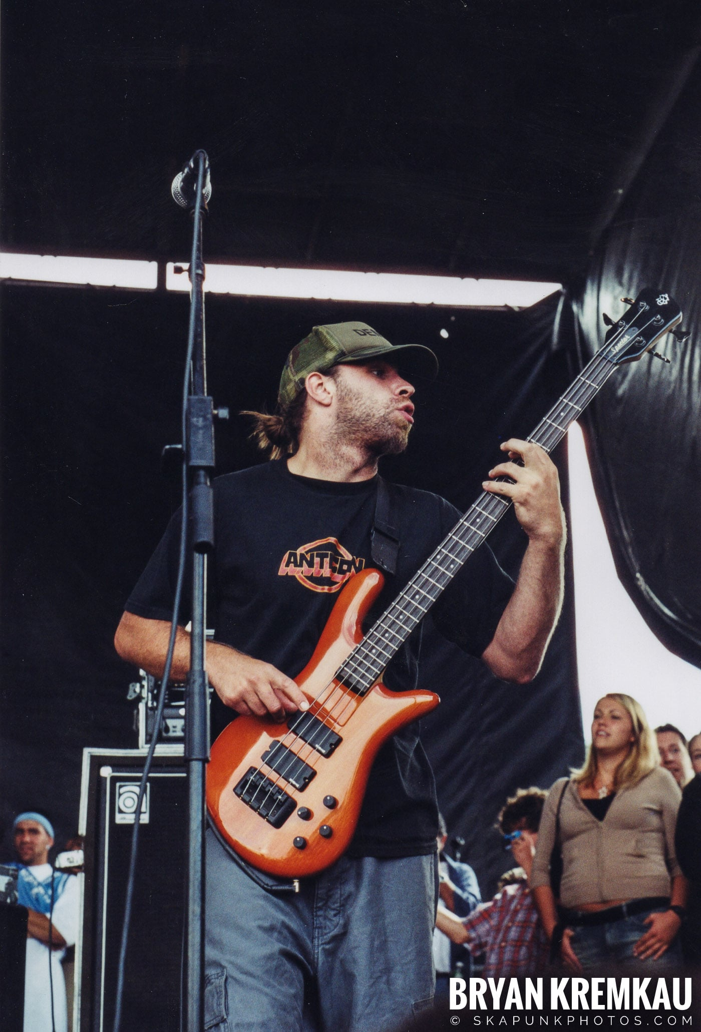 Coheed and Cambria @ Vans Warped Tour, Randall's Island, NYC - 8.7.04 (11)