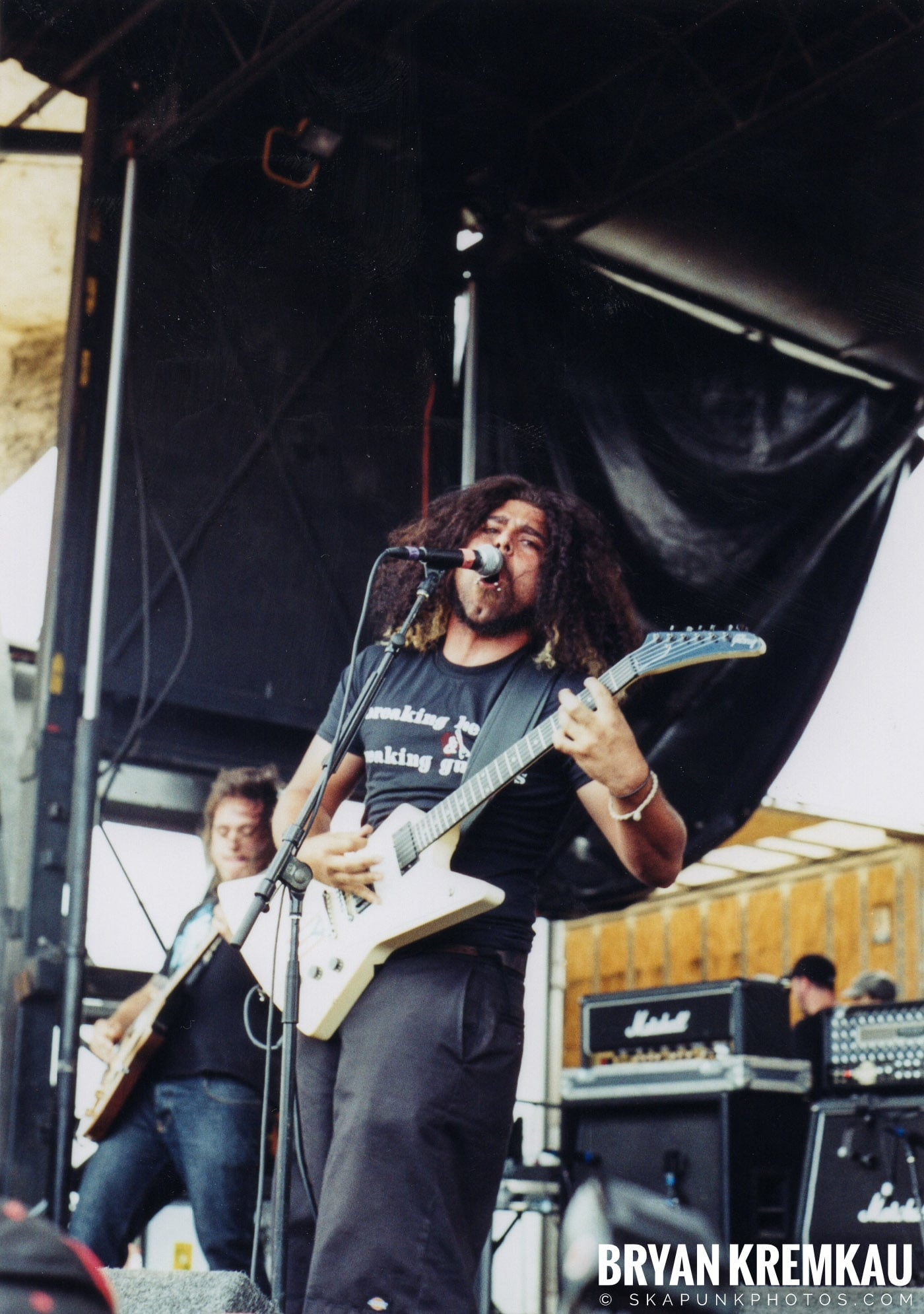 Coheed and Cambria @ Vans Warped Tour, Randall's Island, NYC - 8.7.04 (10)