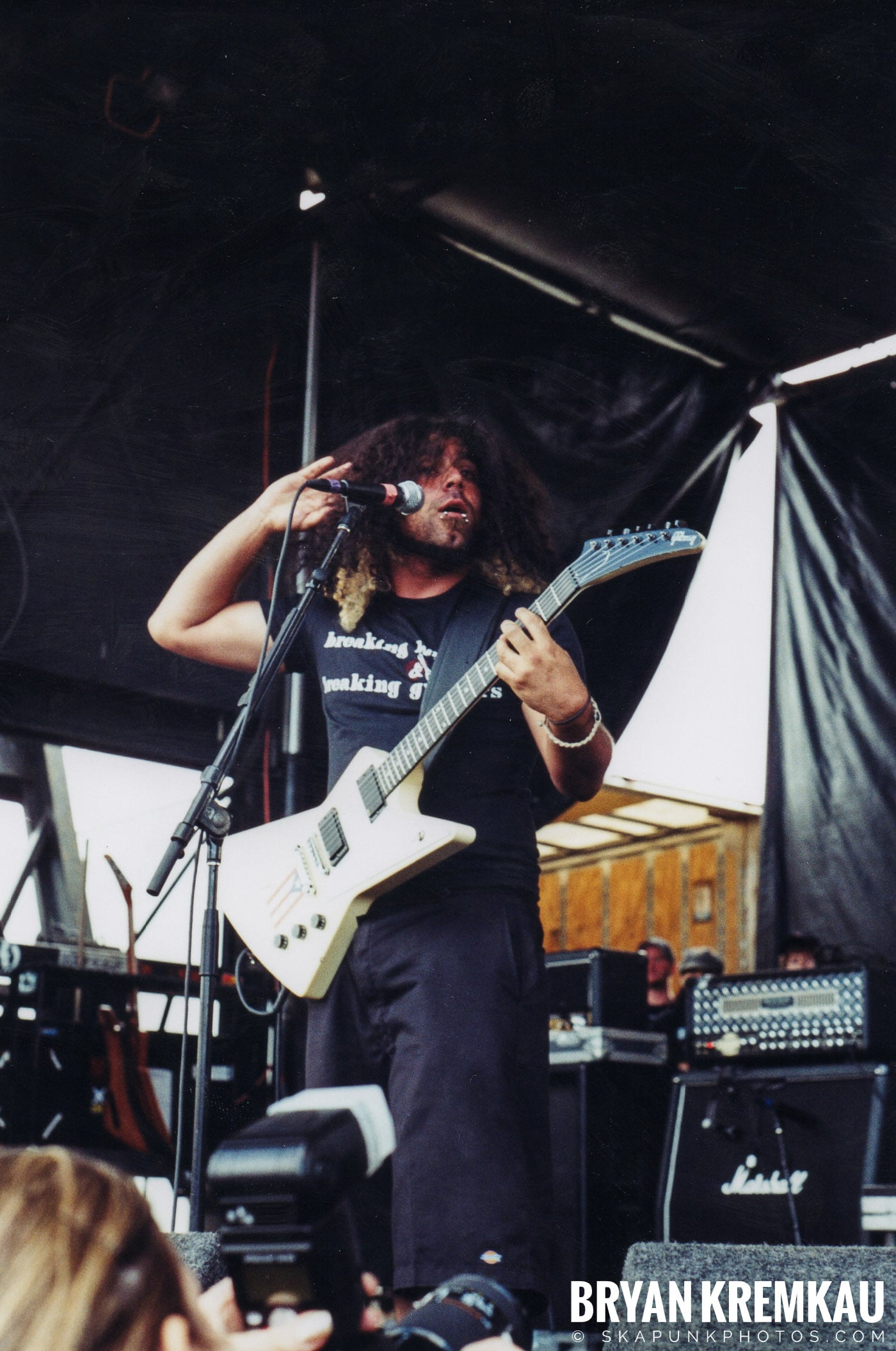 Coheed and Cambria @ Vans Warped Tour, Randall's Island, NYC - 8.7.04 (9)