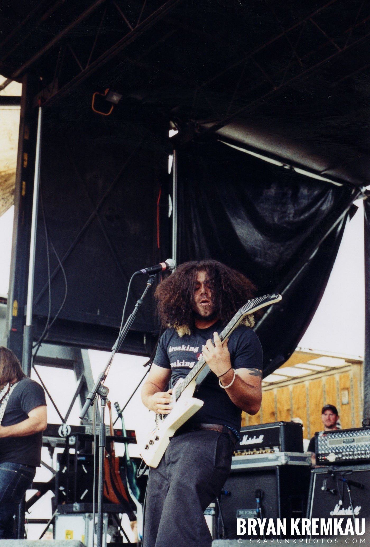 Coheed and Cambria @ Vans Warped Tour, Randall's Island, NYC - 8.7.04 (7)
