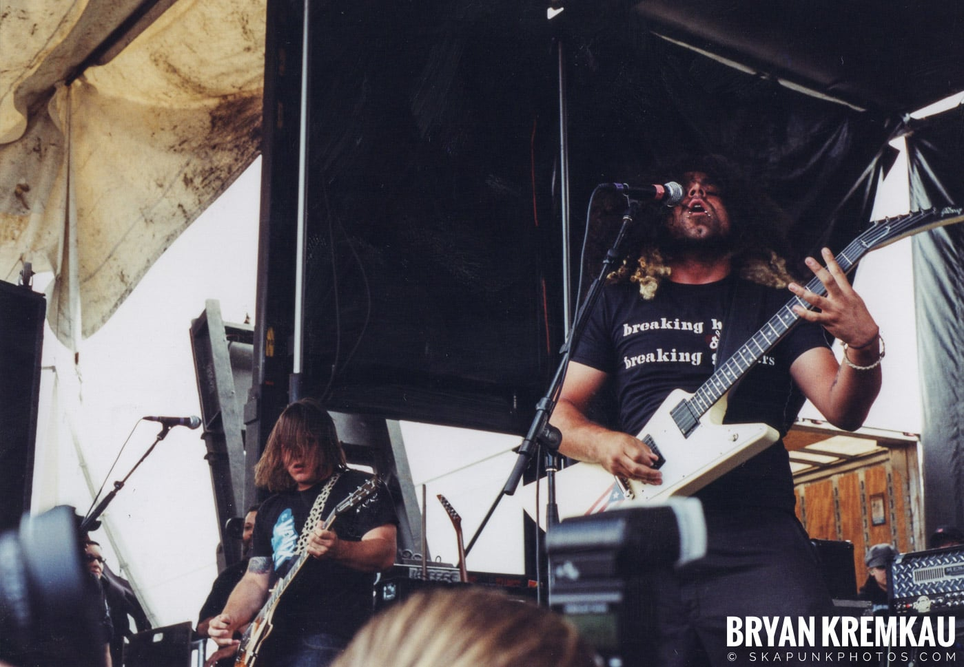 Coheed and Cambria @ Vans Warped Tour, Randall's Island, NYC - 8.7.04 (6)