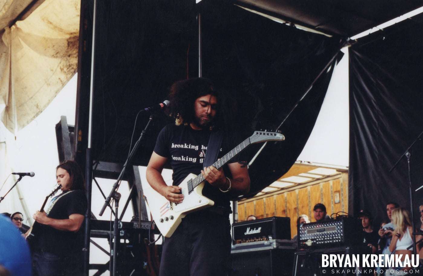 Coheed and Cambria @ Vans Warped Tour, Randall's Island, NYC - 8.7.04 (3)