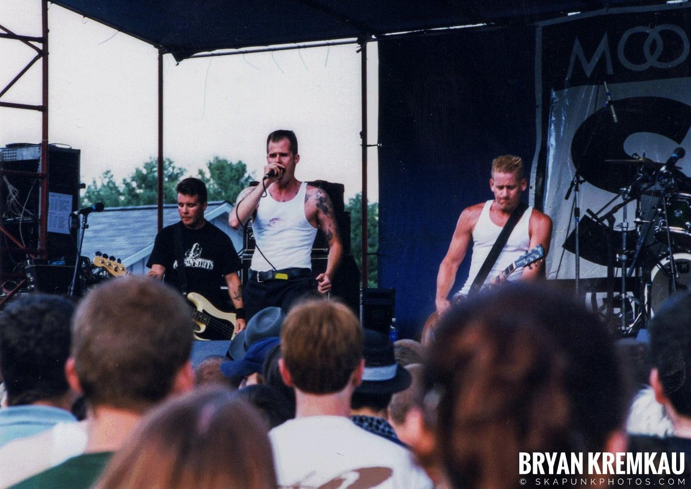The Dropkick Murphys @ New England Ska Fest 98, Westford, MA - 8.22.98 (8)