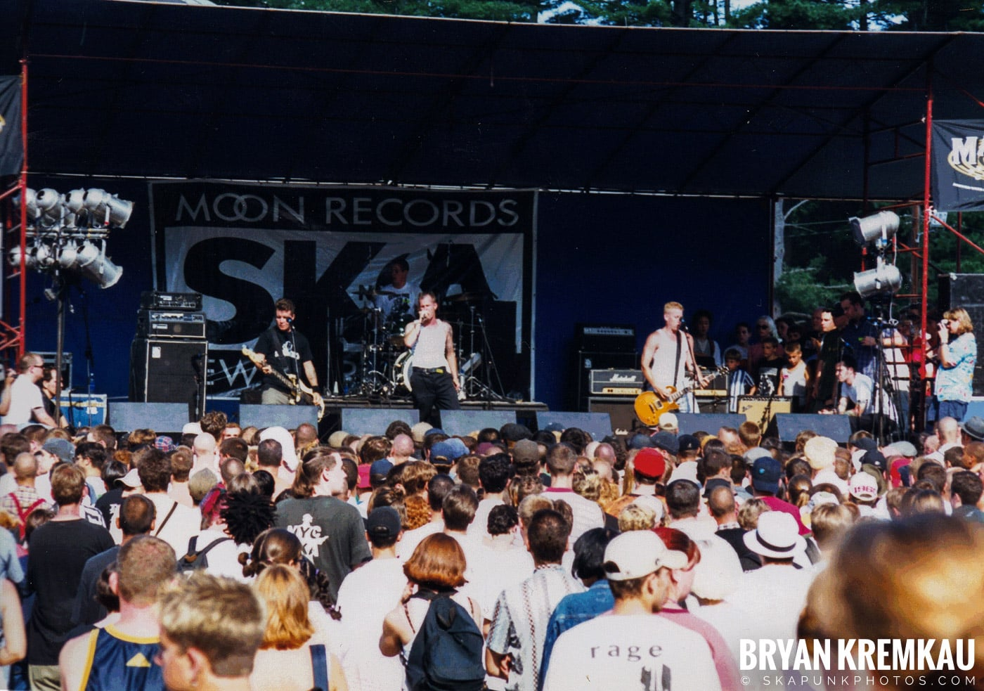 The Dropkick Murphys @ New England Ska Fest 98, Westford, MA - 8.22.98 (2)