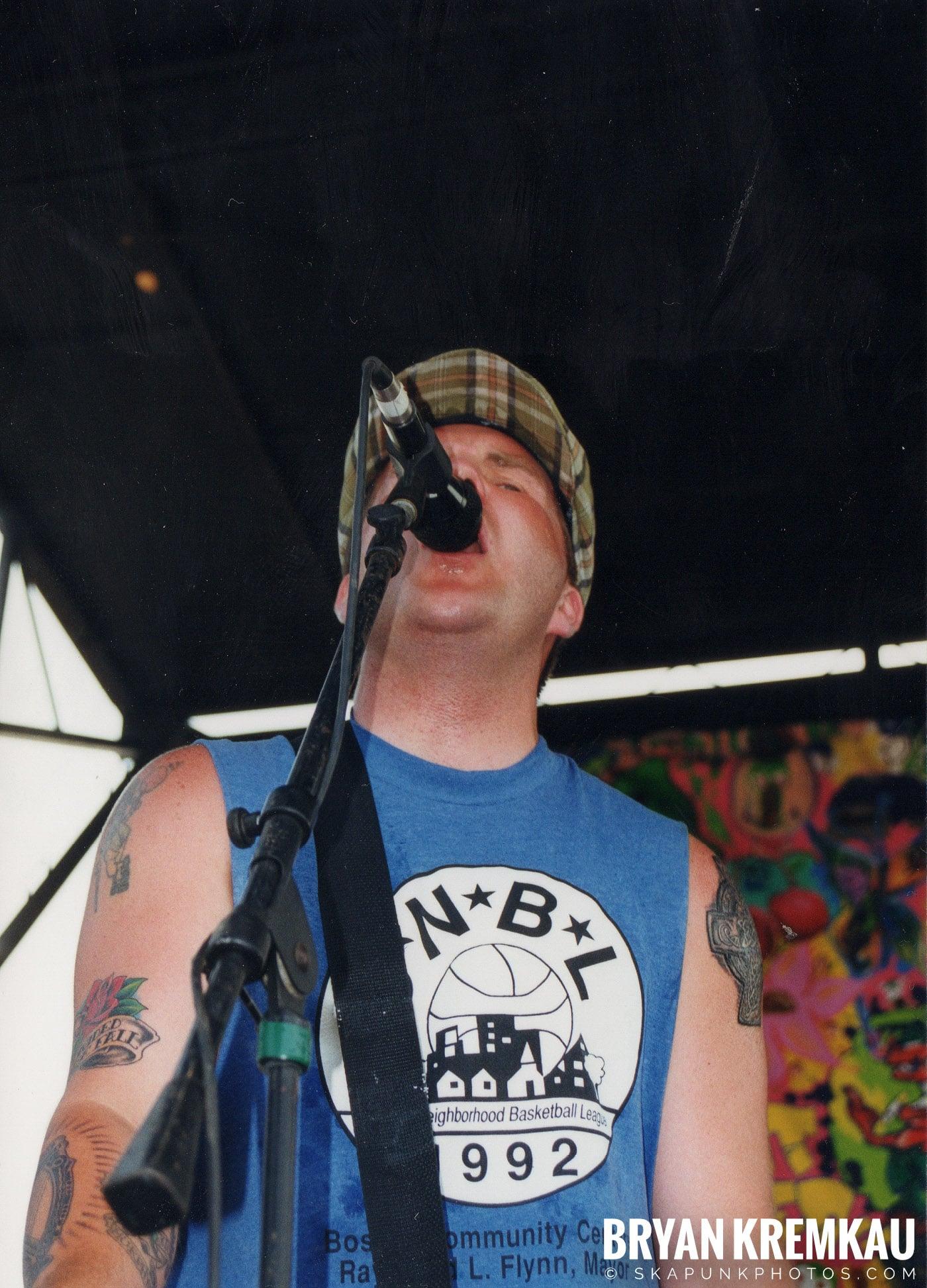 The Dropkick Murphys @ Vans Warped Tour, Randall's Island, NYC - 7.16.99 (11)