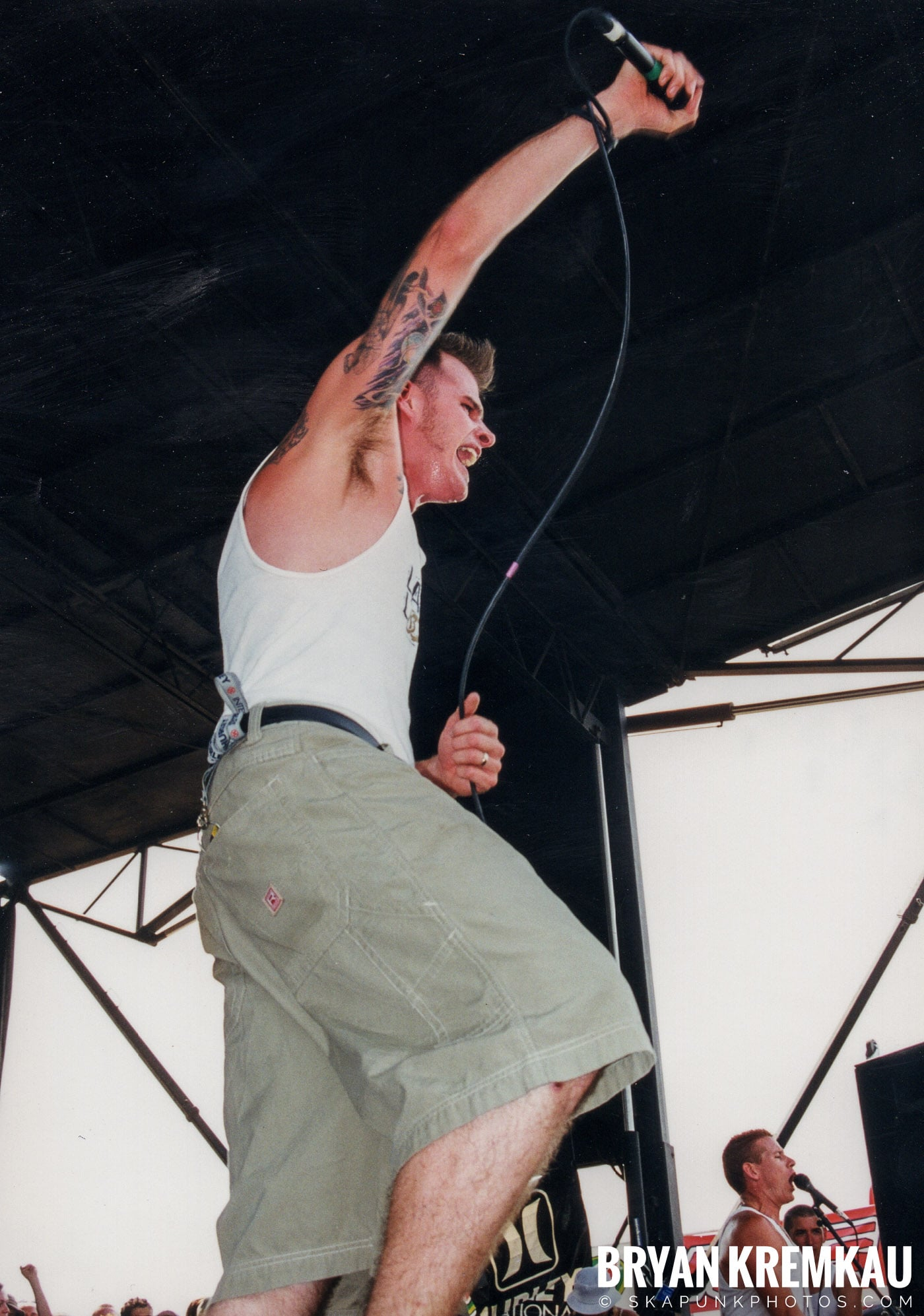 The Dropkick Murphys @ Vans Warped Tour, Randall's Island, NYC - 7.16.99 (7)