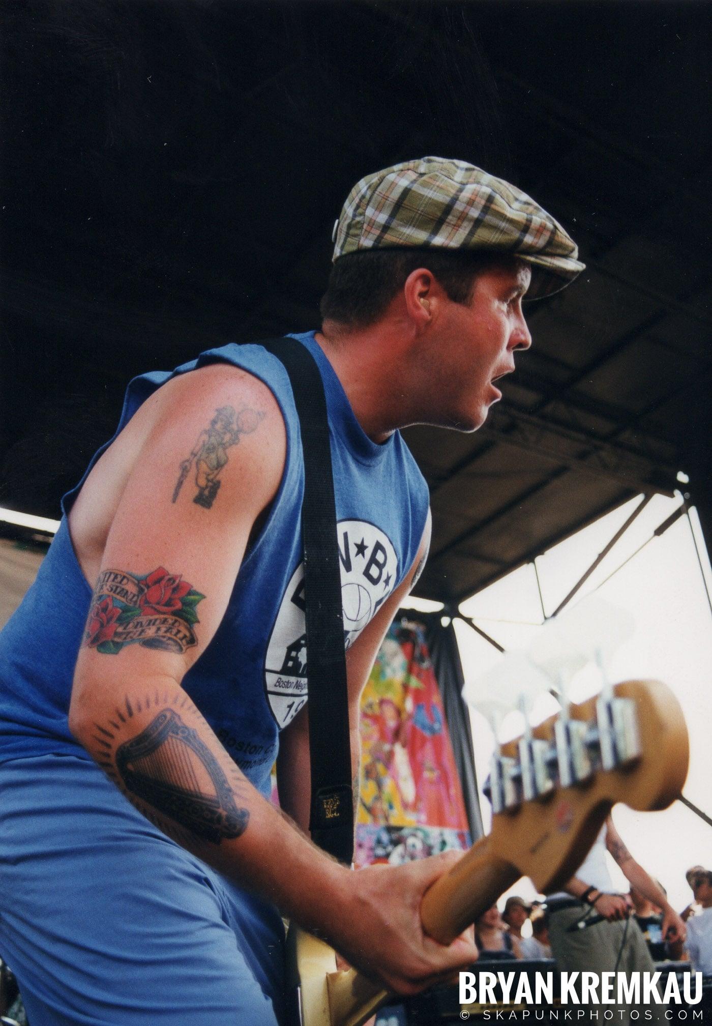 The Dropkick Murphys @ Vans Warped Tour, Randall's Island, NYC - 7.16.99 (2)