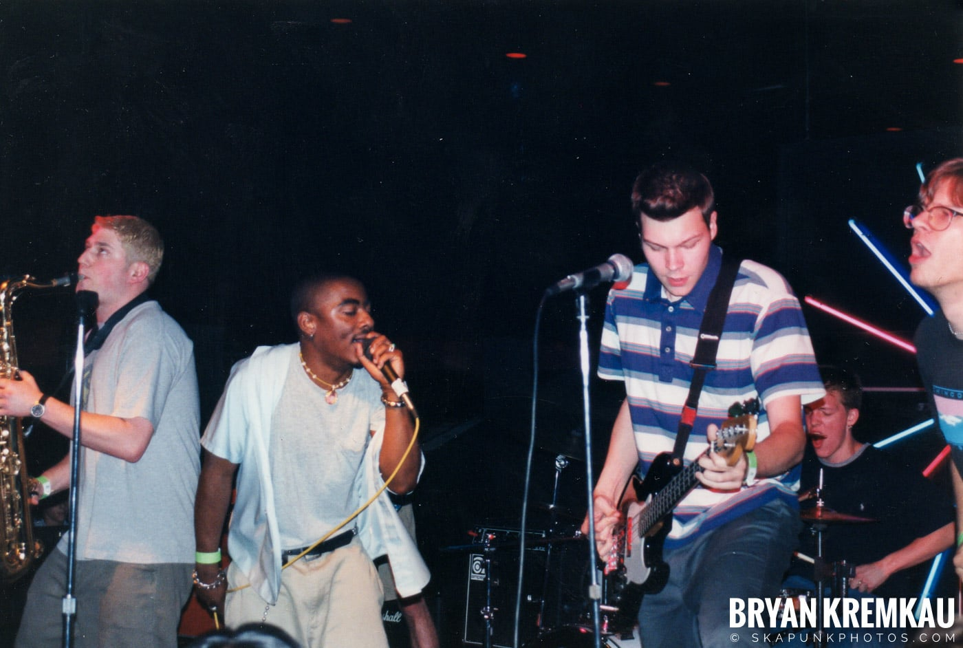 The Eclectics @ Skater's World, Wayne, NJ - 1998 (6)