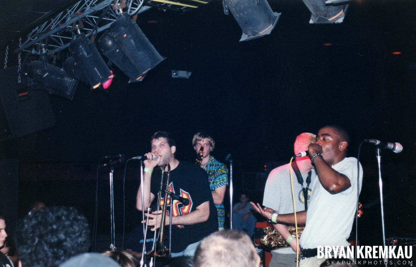 The Eclectics @ Skater's World, Wayne, NJ - 1998 (5)