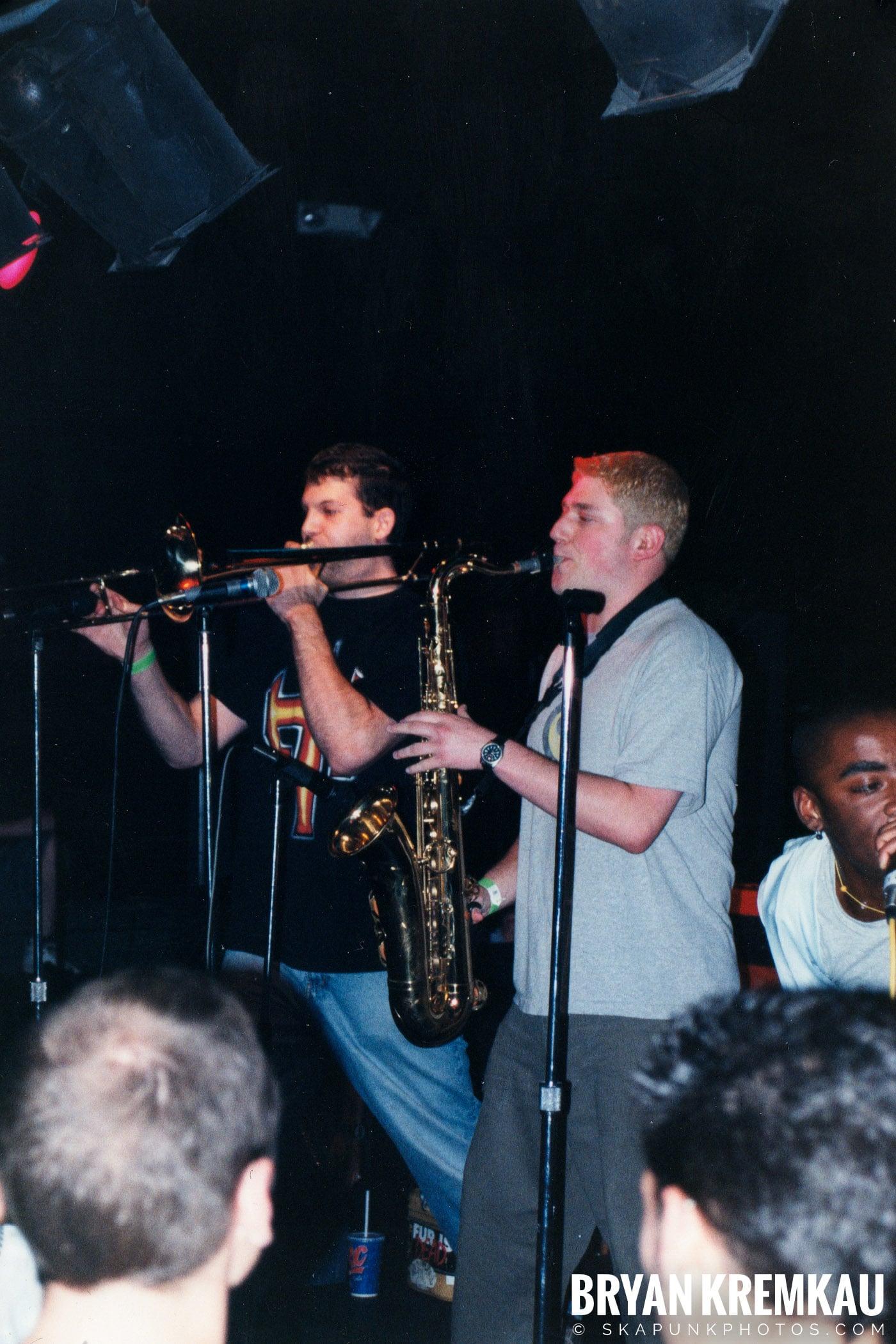 The Eclectics @ Skater's World, Wayne, NJ - 1998 (4)