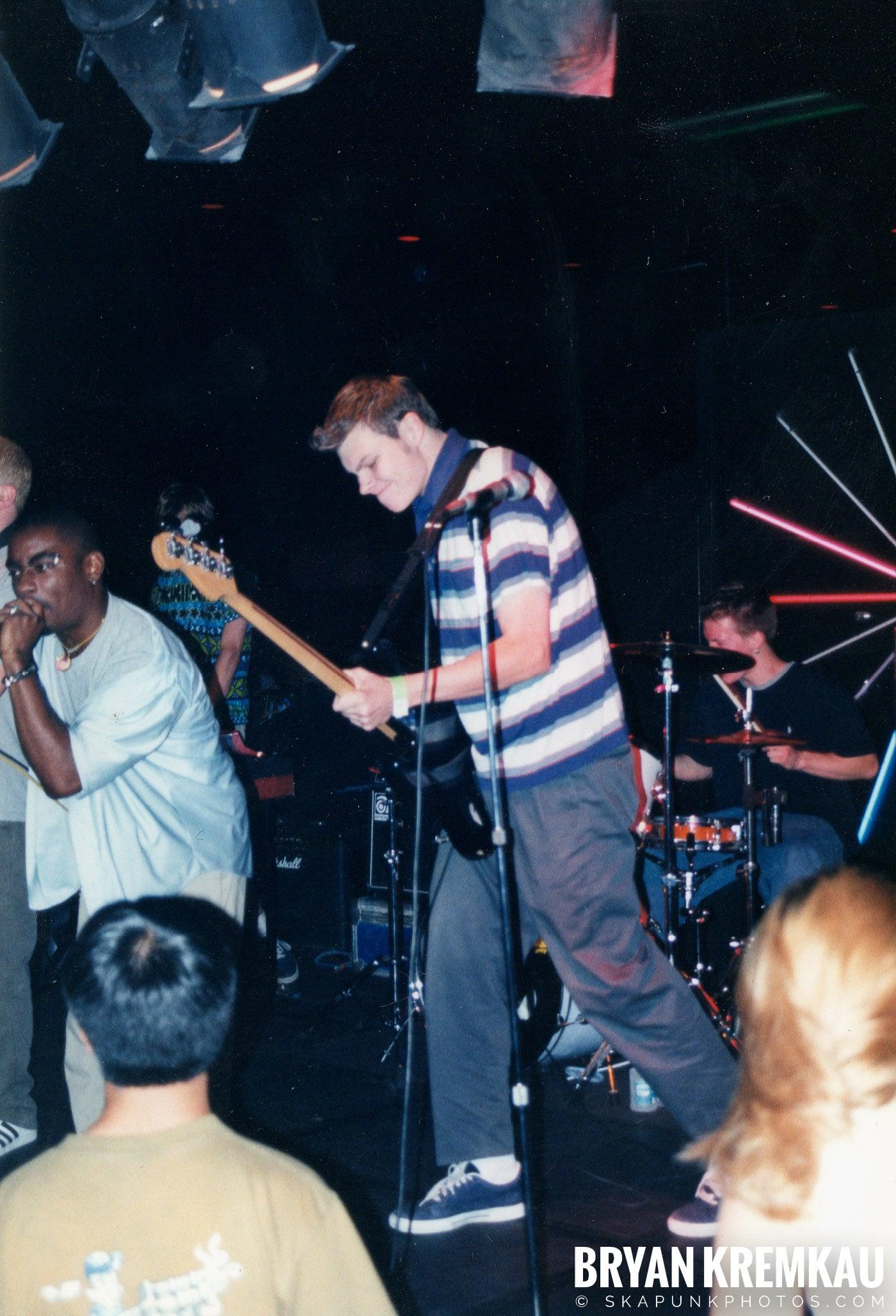 The Eclectics @ Skater's World, Wayne, NJ - 1998 (3)
