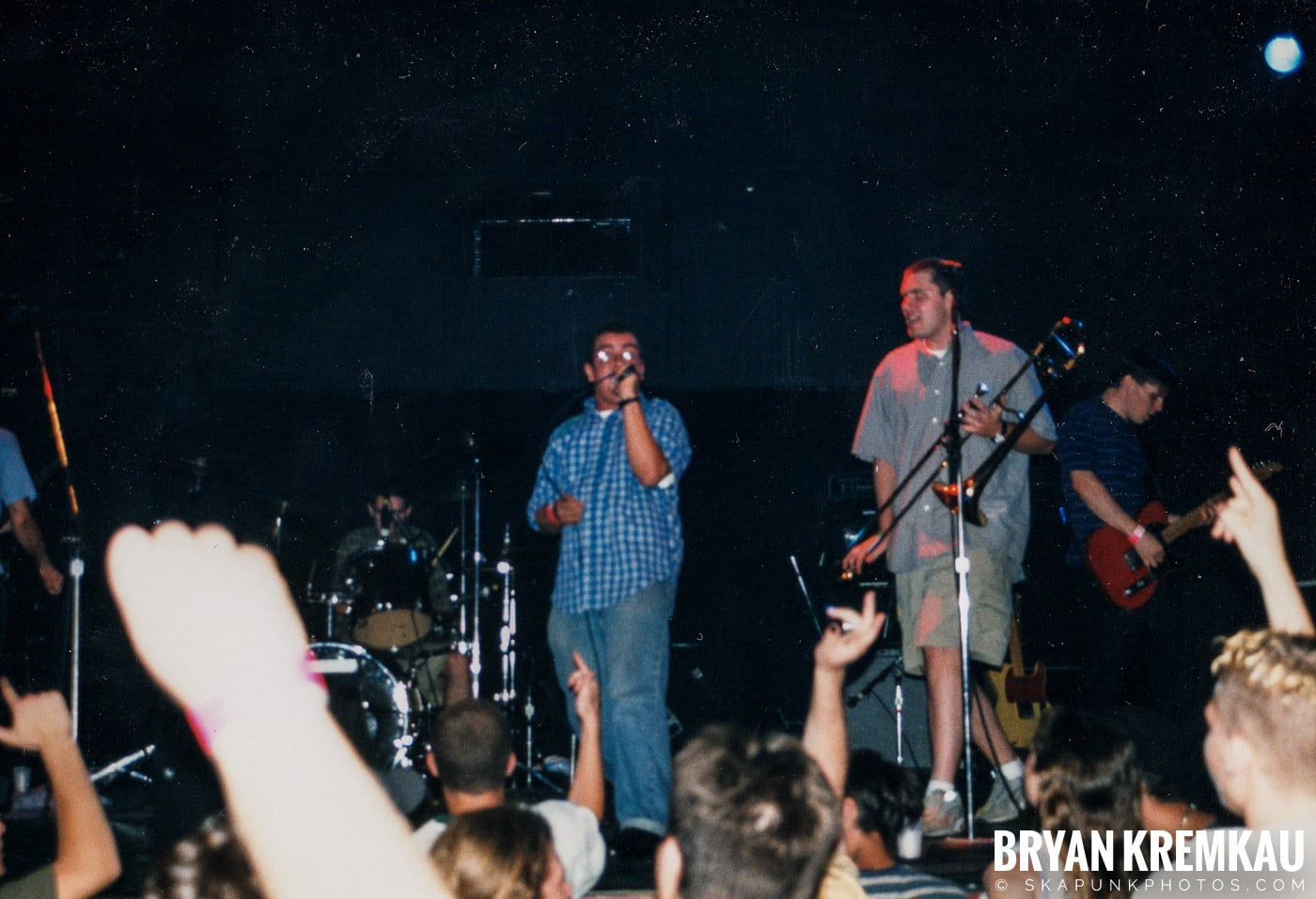 Edna's Goldfish @ The Chance, Poughkeepsie, NY - 7.17.98 (5)