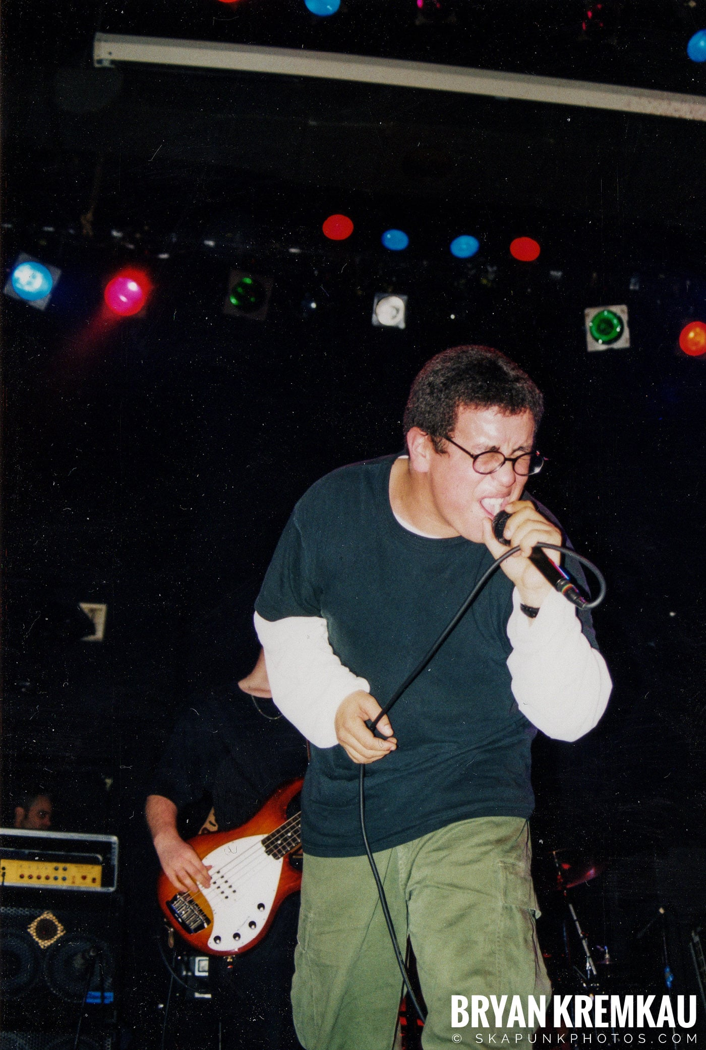 Edna's Goldfish @ The Chance, Poughkeepsie, NY - 1.15.99 (10)