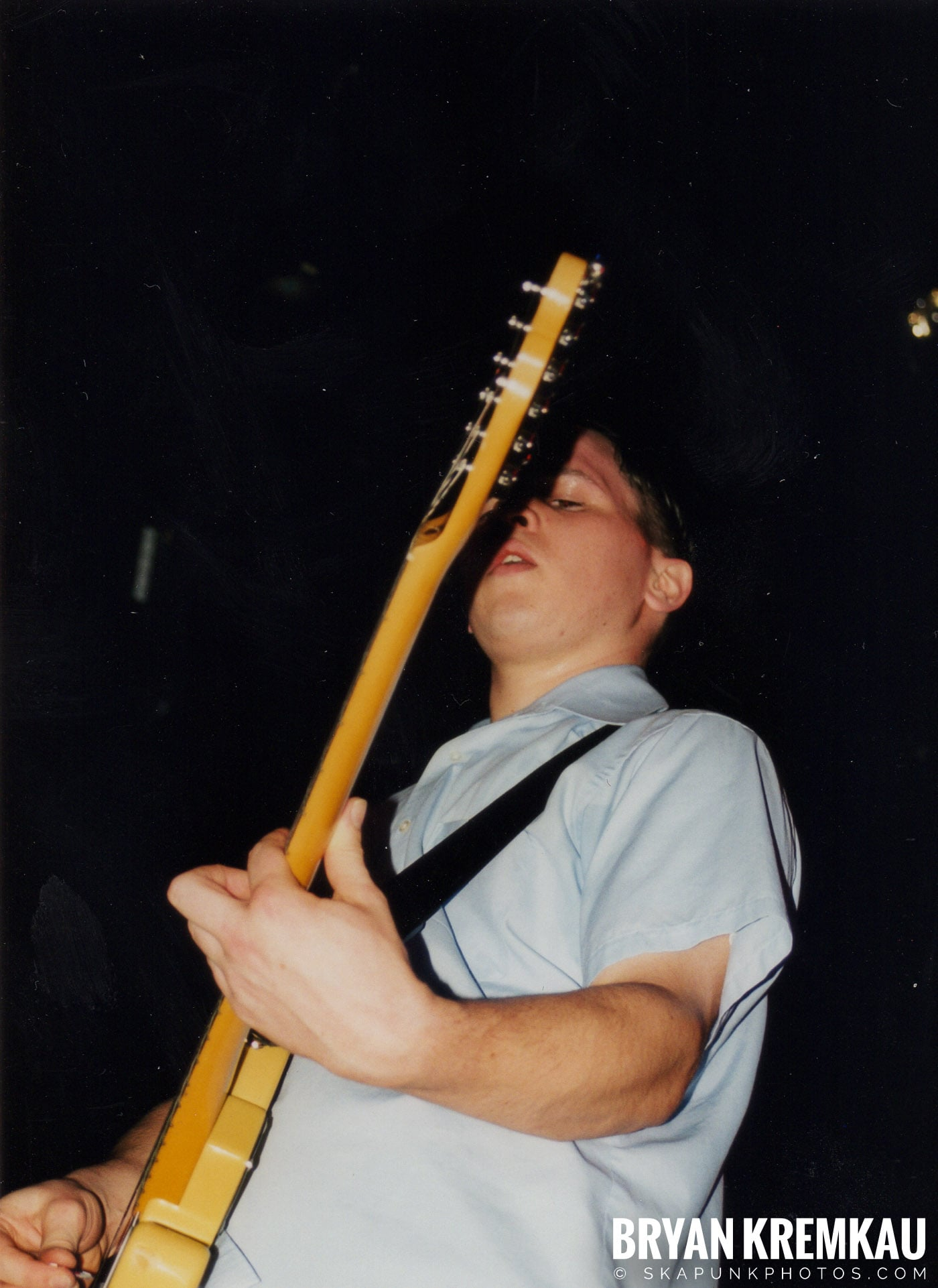 Edna's Goldfish @ The Chance, Poughkeepsie, NY - 1.15.99 (9)