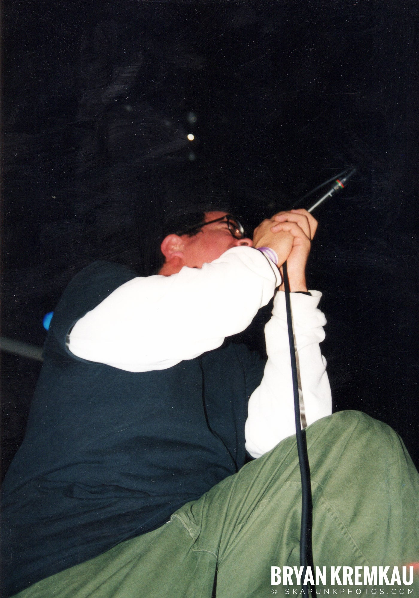 Edna's Goldfish @ The Chance, Poughkeepsie, NY - 1.15.99 (8)