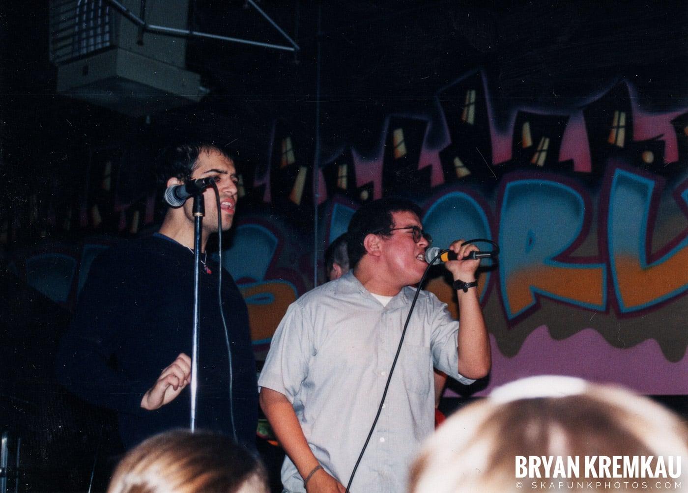 Edna's Goldfish @ Skater's World, Wayne, NJ - 11.7.98 (3)