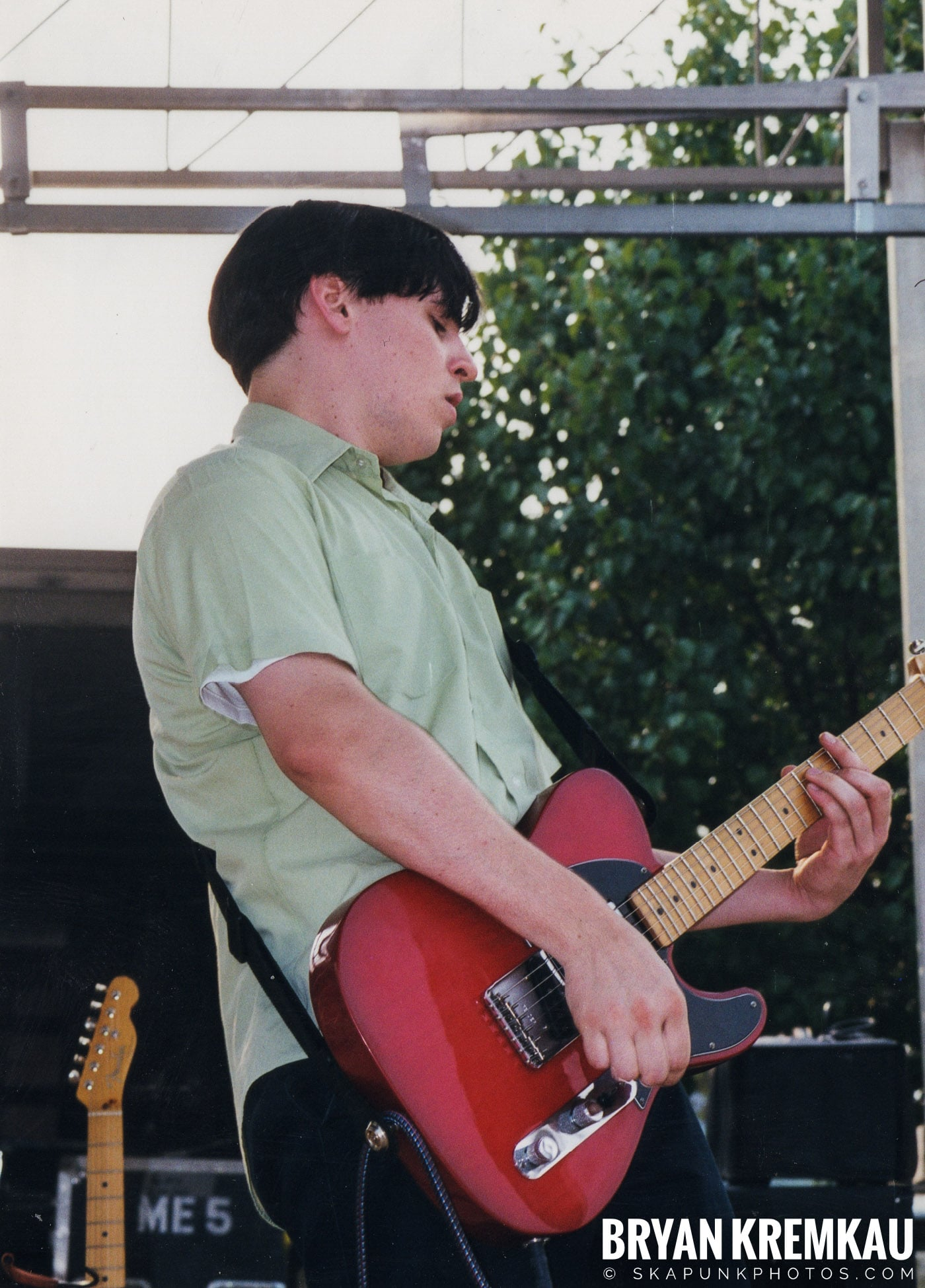 Edna's Goldfish @ Vans Warped Tour, Randall's Island, NYC - 7.16.99 (3)