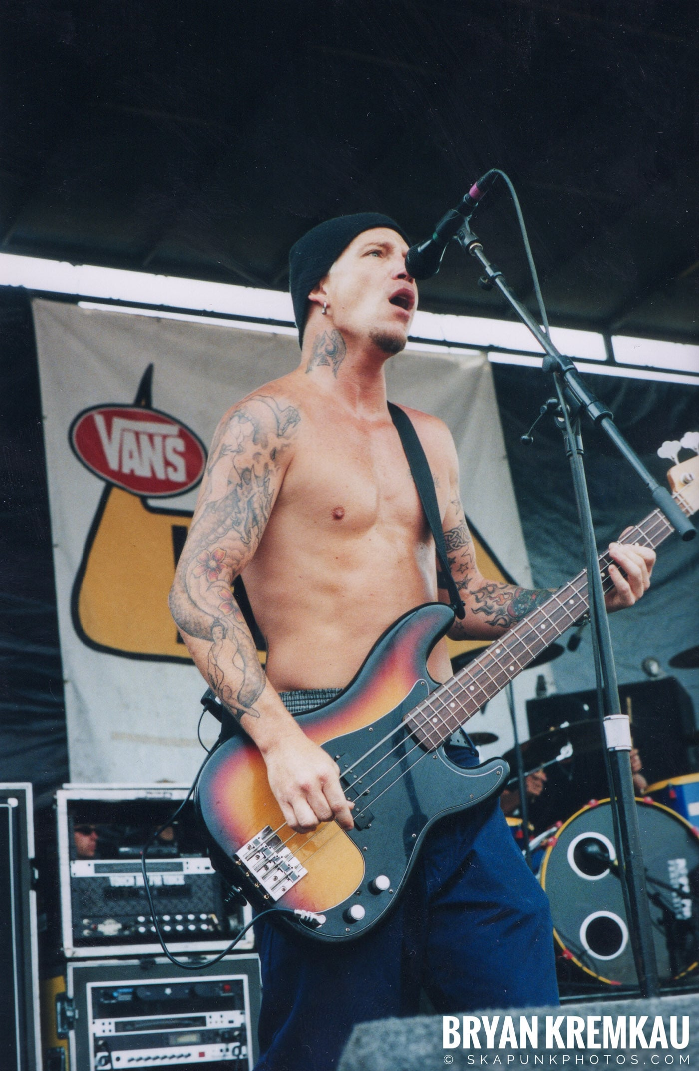 Fenix TX @ Vans Warped Tour, Randall's Island, NYC - 8.4.01 (2)