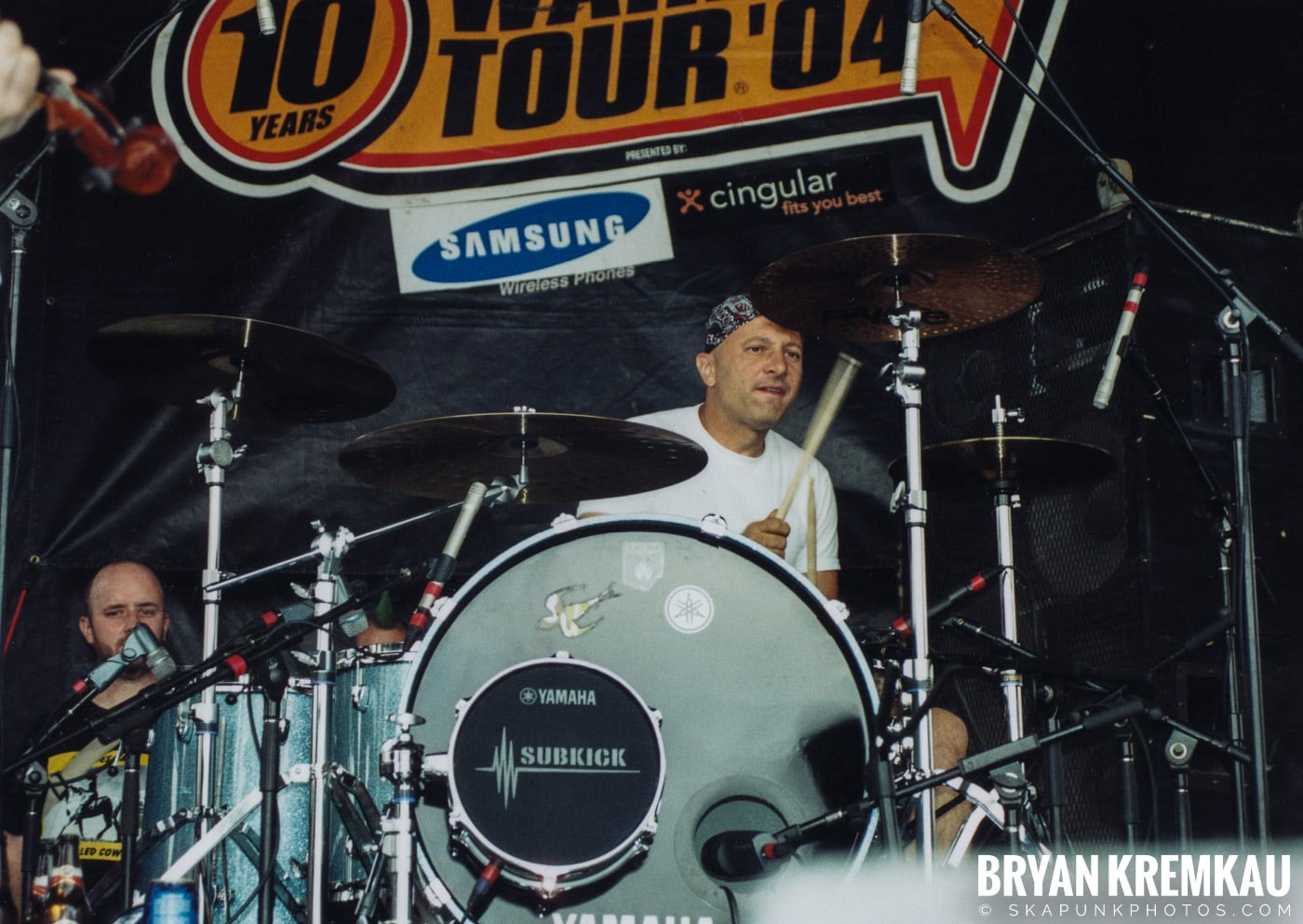 Flogging Molly @ Vans Warped Tour, Randall's Island, NYC - 8.7.04 (3)
