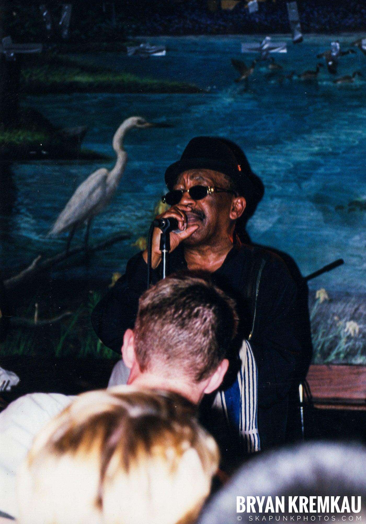Laurel Aitken @ Wetlands, NYC - 7.11.99 (10)