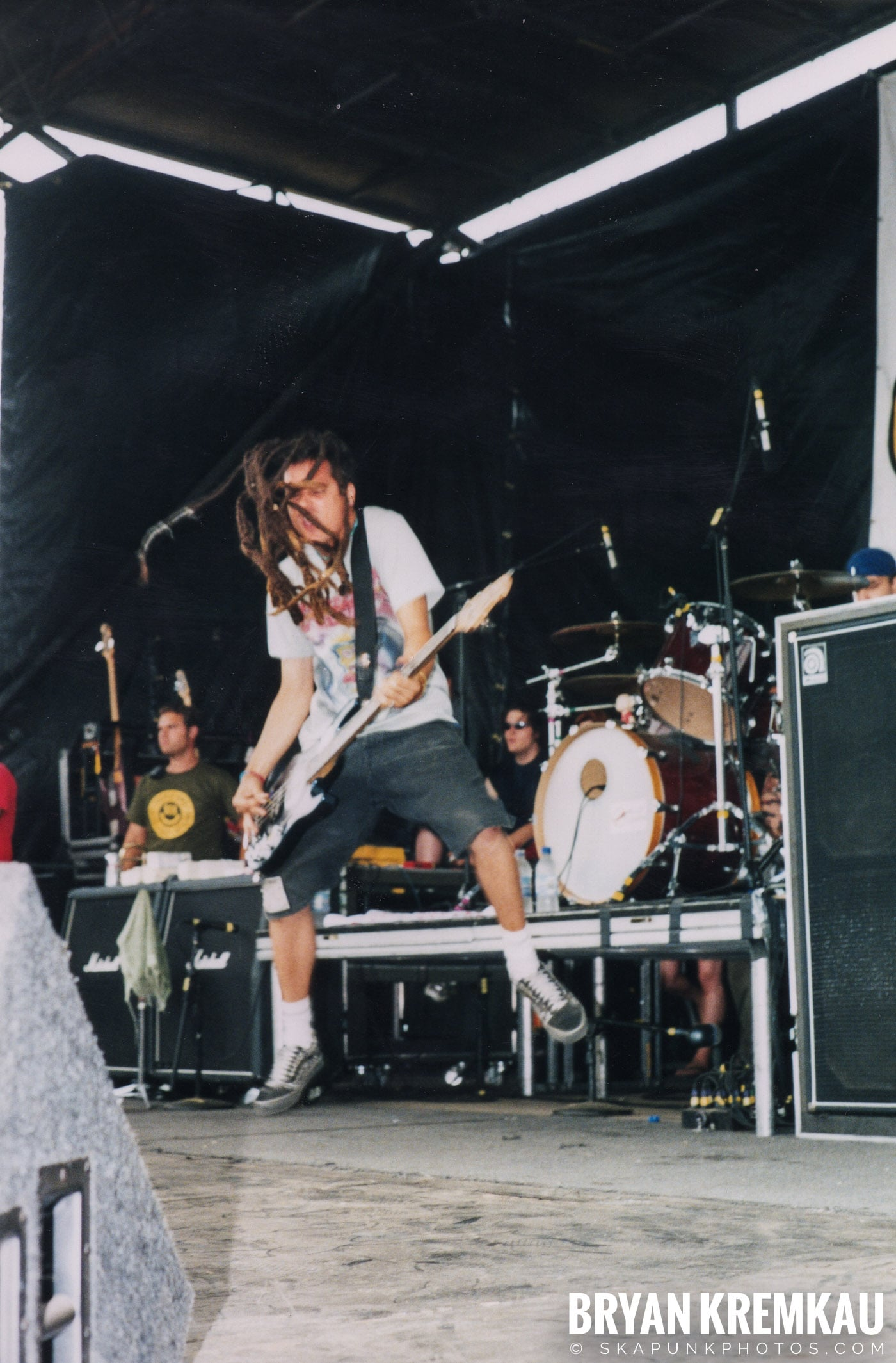 Less Than Jake @ Vans Warped Tour, Randall's Island, NYC - 8.4.01 (1)
