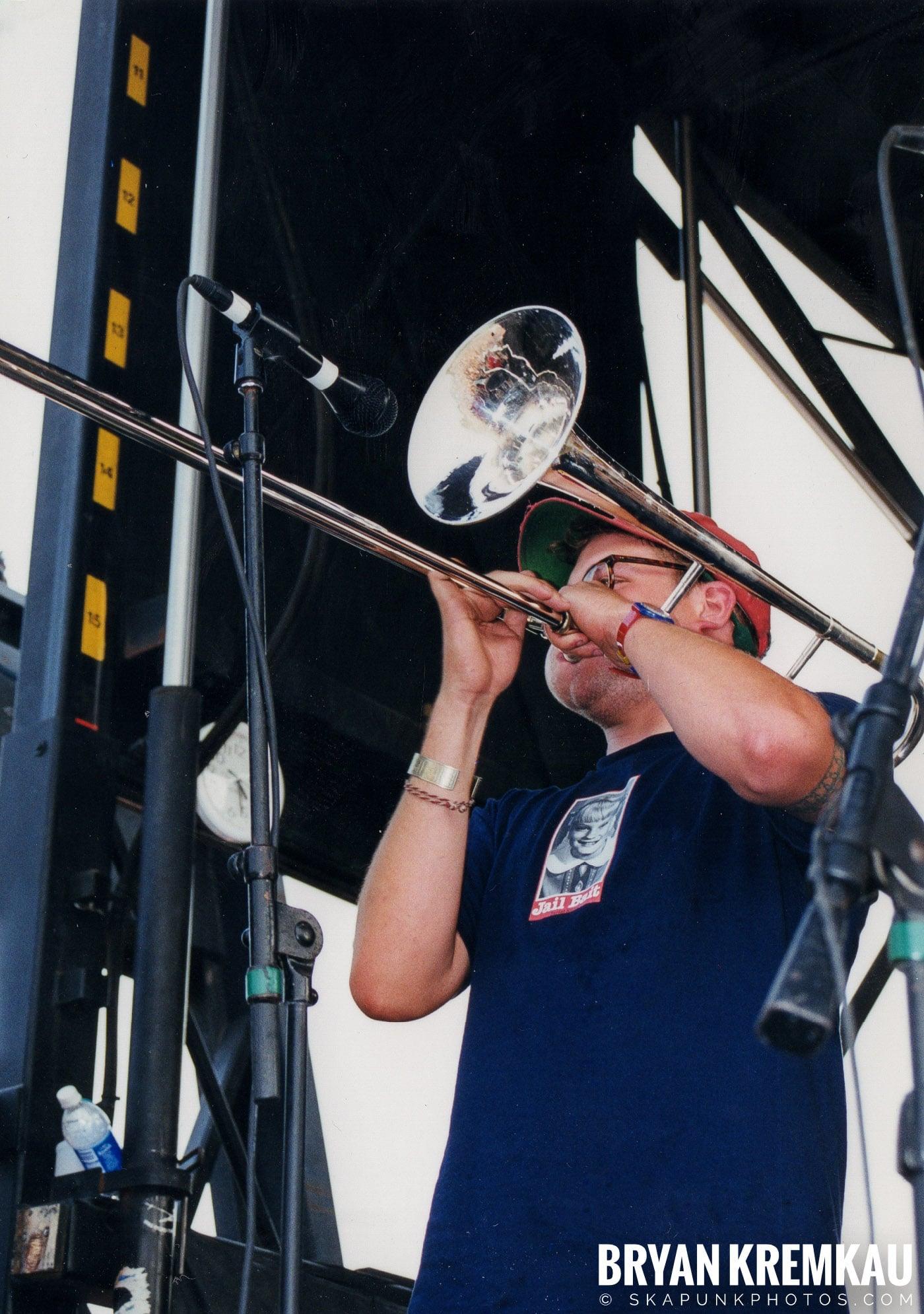 Less Than Jake @ Vans Warped Tour, Randall's Island, NYC - 7.16.99 (8)