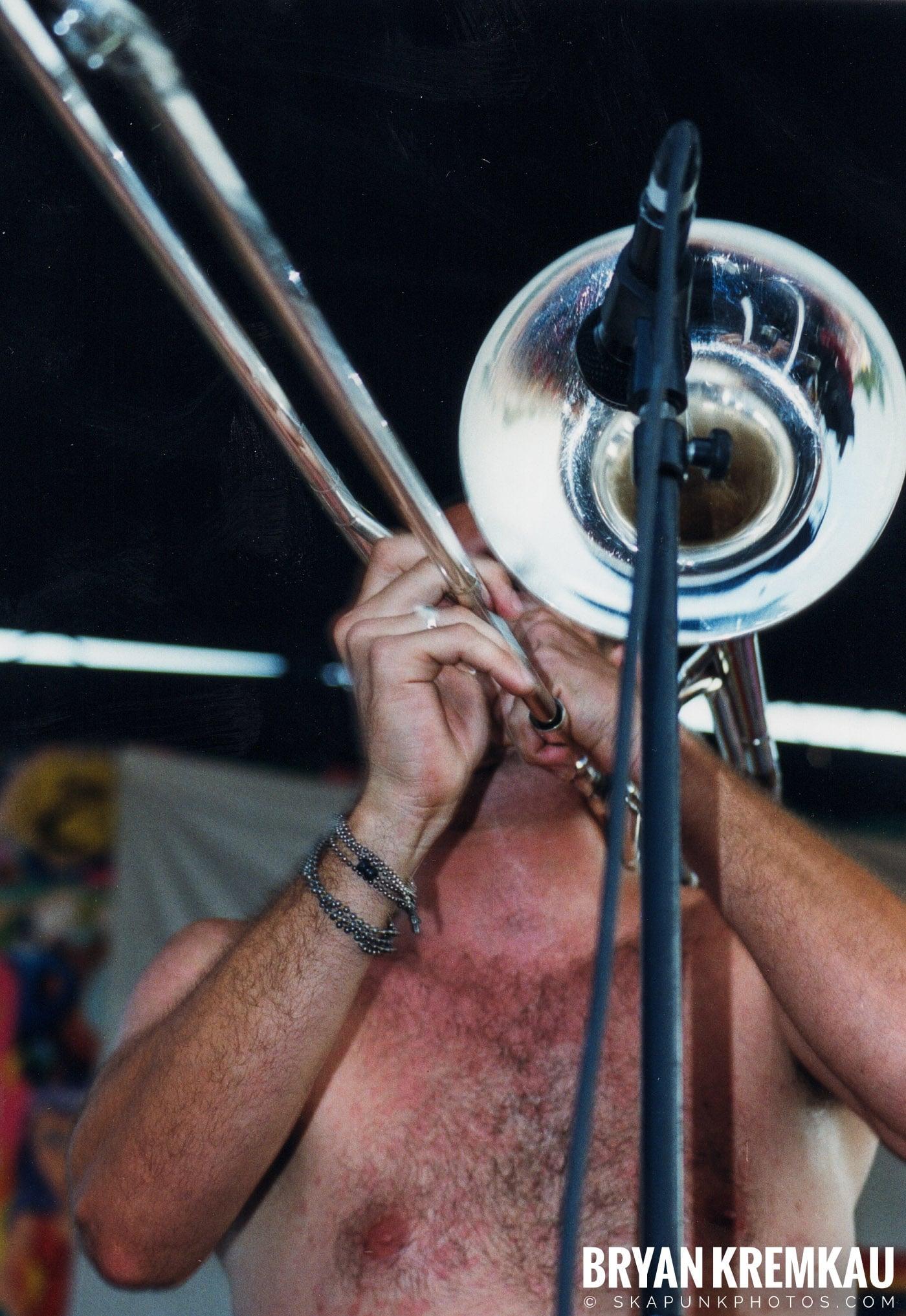 Less Than Jake @ Vans Warped Tour, Randall's Island, NYC - 7.16.99 (4)