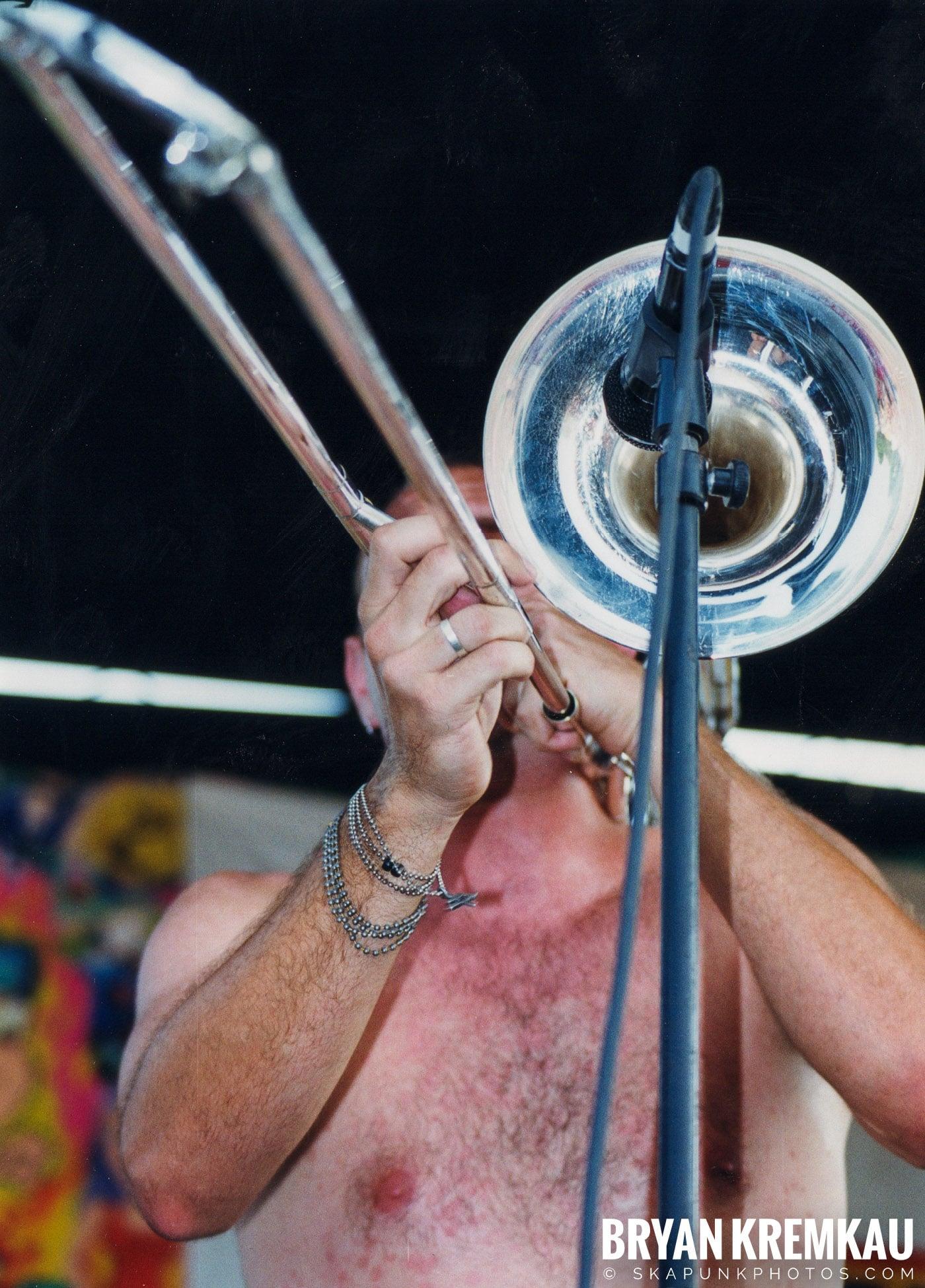 Less Than Jake @ Vans Warped Tour, Randall's Island, NYC - 7.16.99 (2)