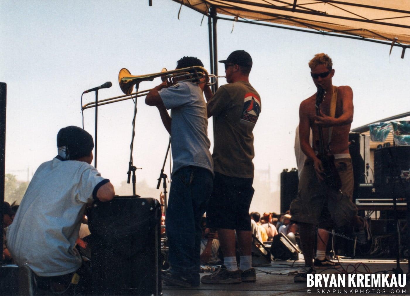 Mad Caddies @ Vans Warped Tour, Randall's Island, NYC - 8.1.98 (10)