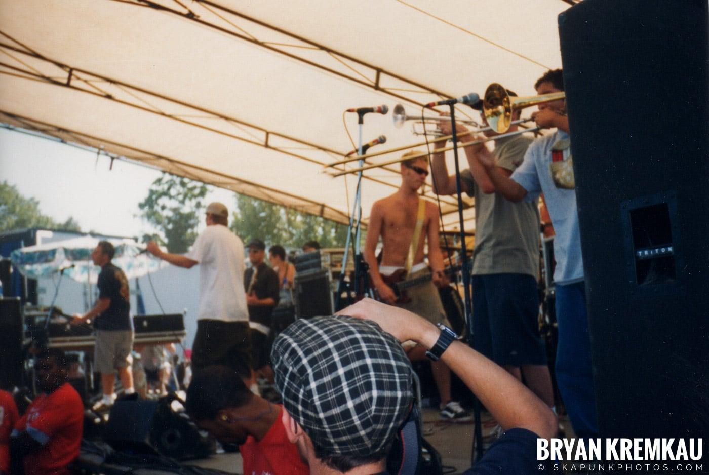 Mad Caddies @ Vans Warped Tour, Randall's Island, NYC - 8.1.98 (8)