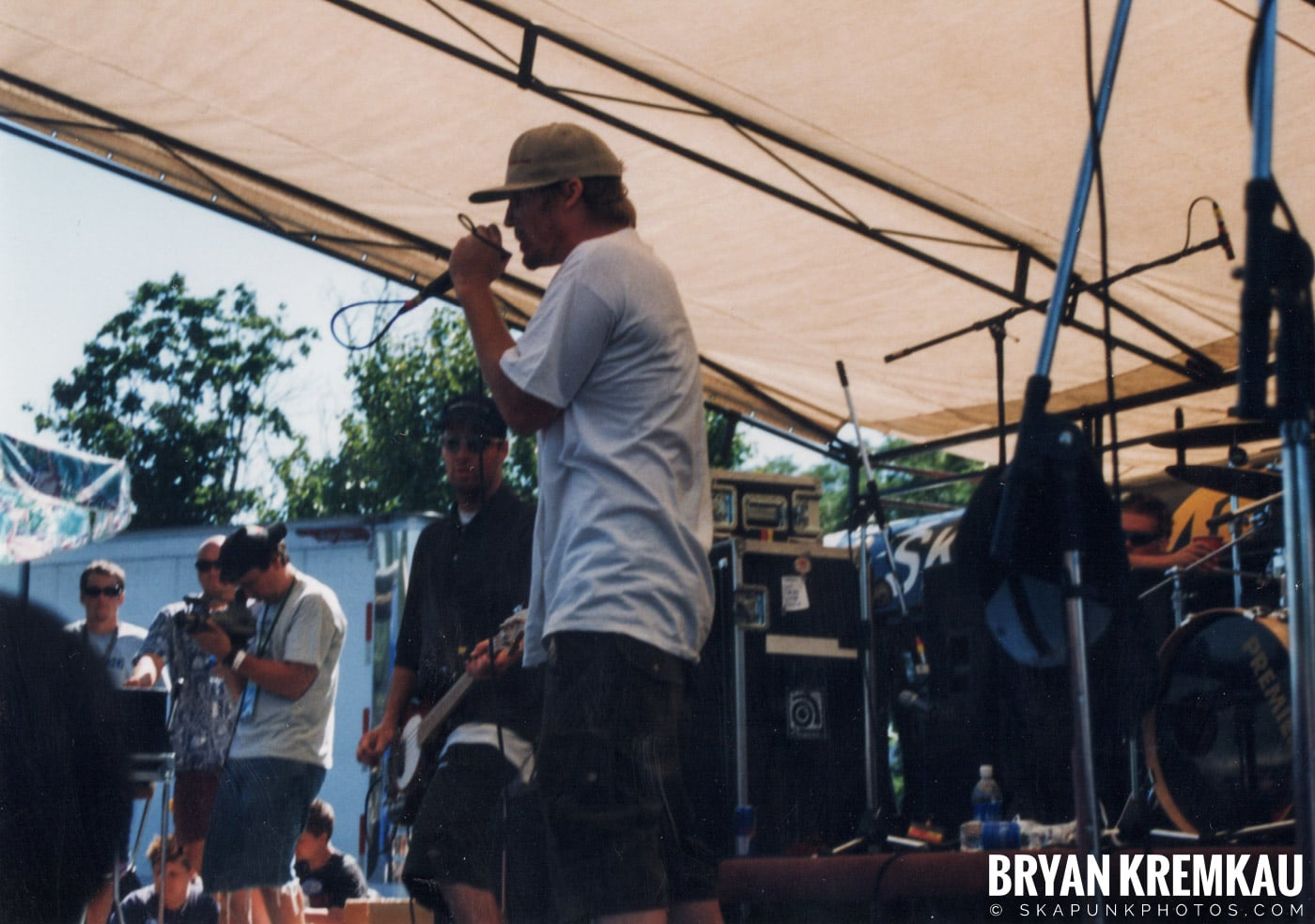 Mad Caddies @ Vans Warped Tour, Randall's Island, NYC - 8.1.98 (7)
