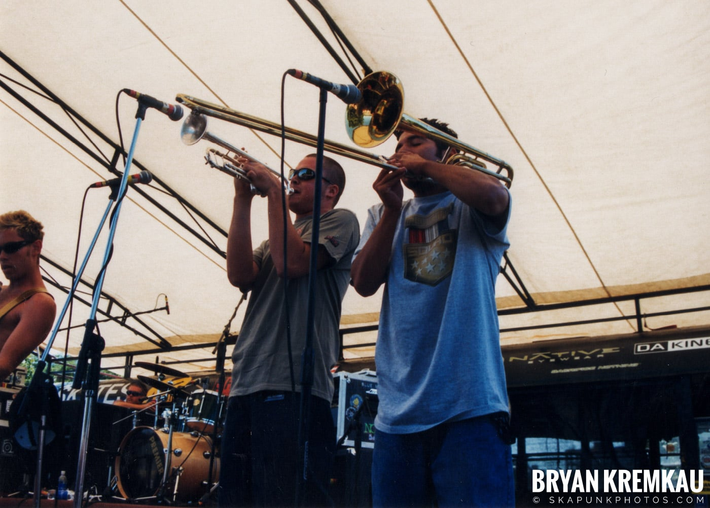Mad Caddies @ Vans Warped Tour, Randall's Island, NYC - 8.1.98 (2)