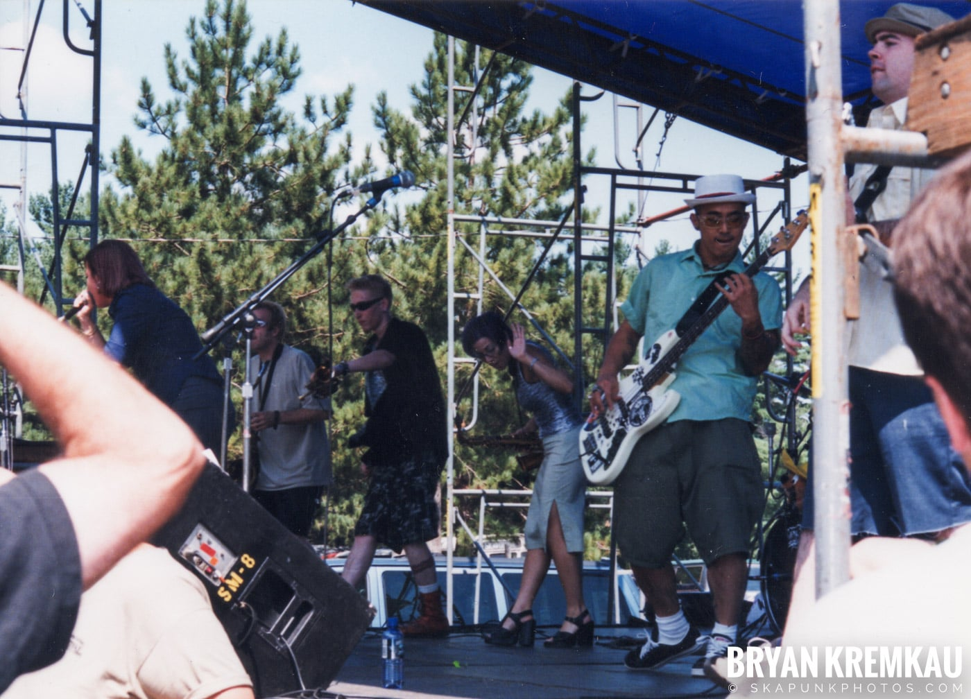 Metro Stylee @ New England Ska Fest 98, Westford, MA - 8.22.98 (1)