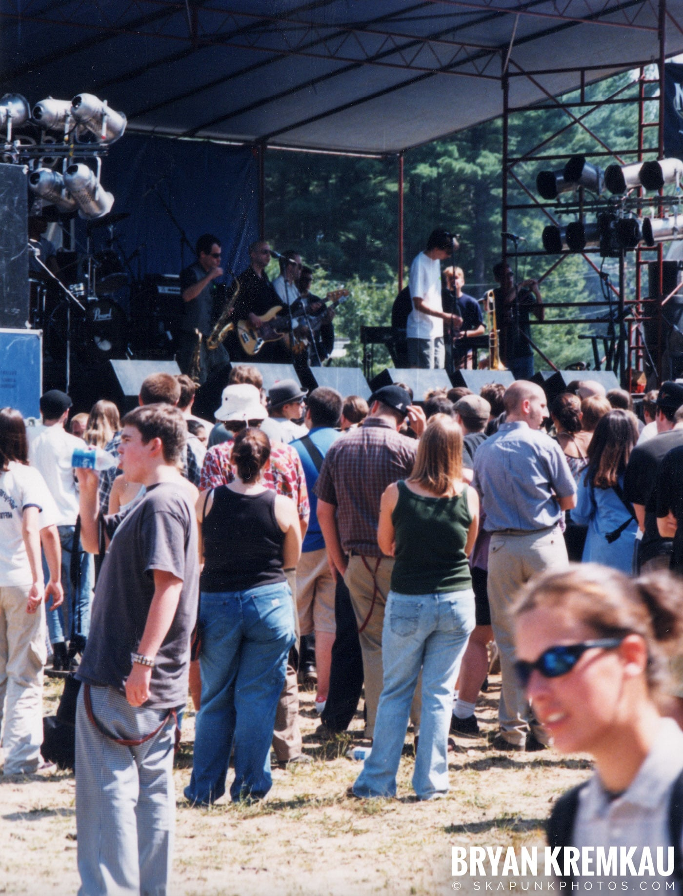 Crowd Shots @ New England Ska Fest 98, Westford, MA - 8.22.98 (11)