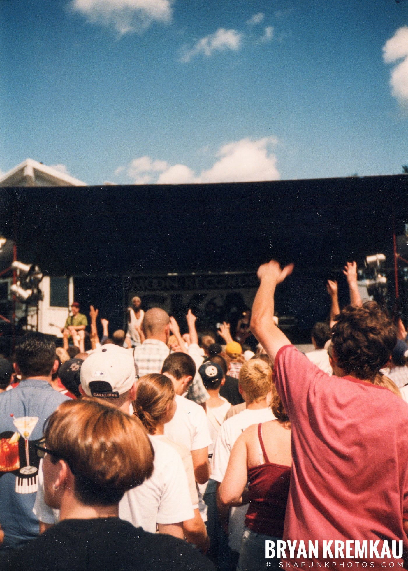 Crowd Shots @ New England Ska Fest 98, Westford, MA - 8.22.98 (9)