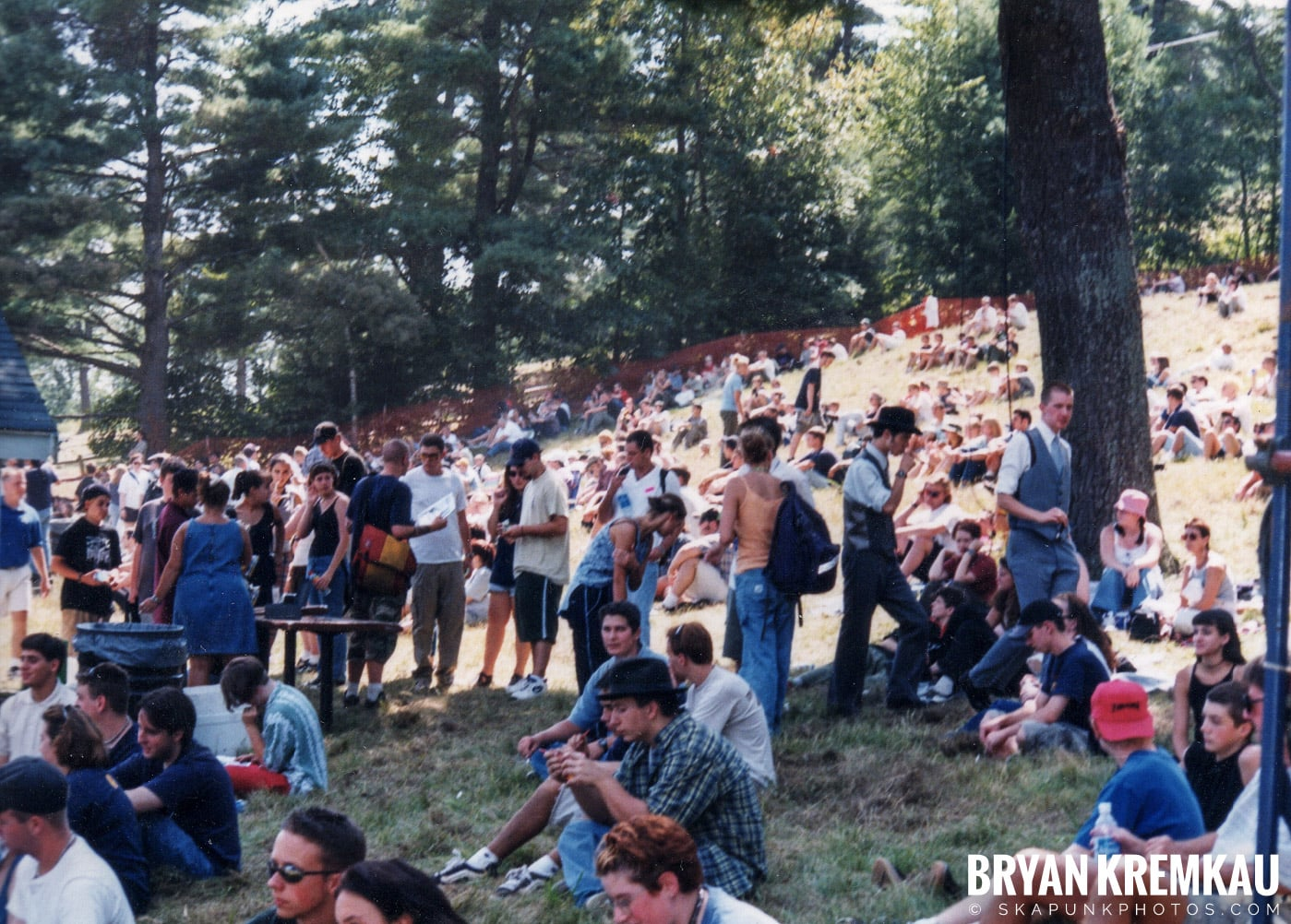 Crowd Shots @ New England Ska Fest 98, Westford, MA - 8.22.98 (8)
