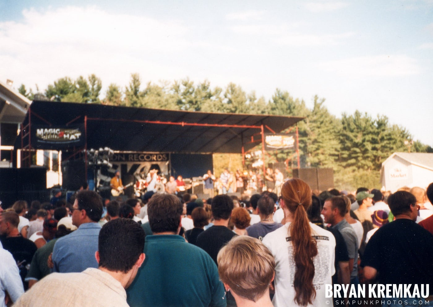 Crowd Shots @ New England Ska Fest 98, Westford, MA - 8.22.98 (5)