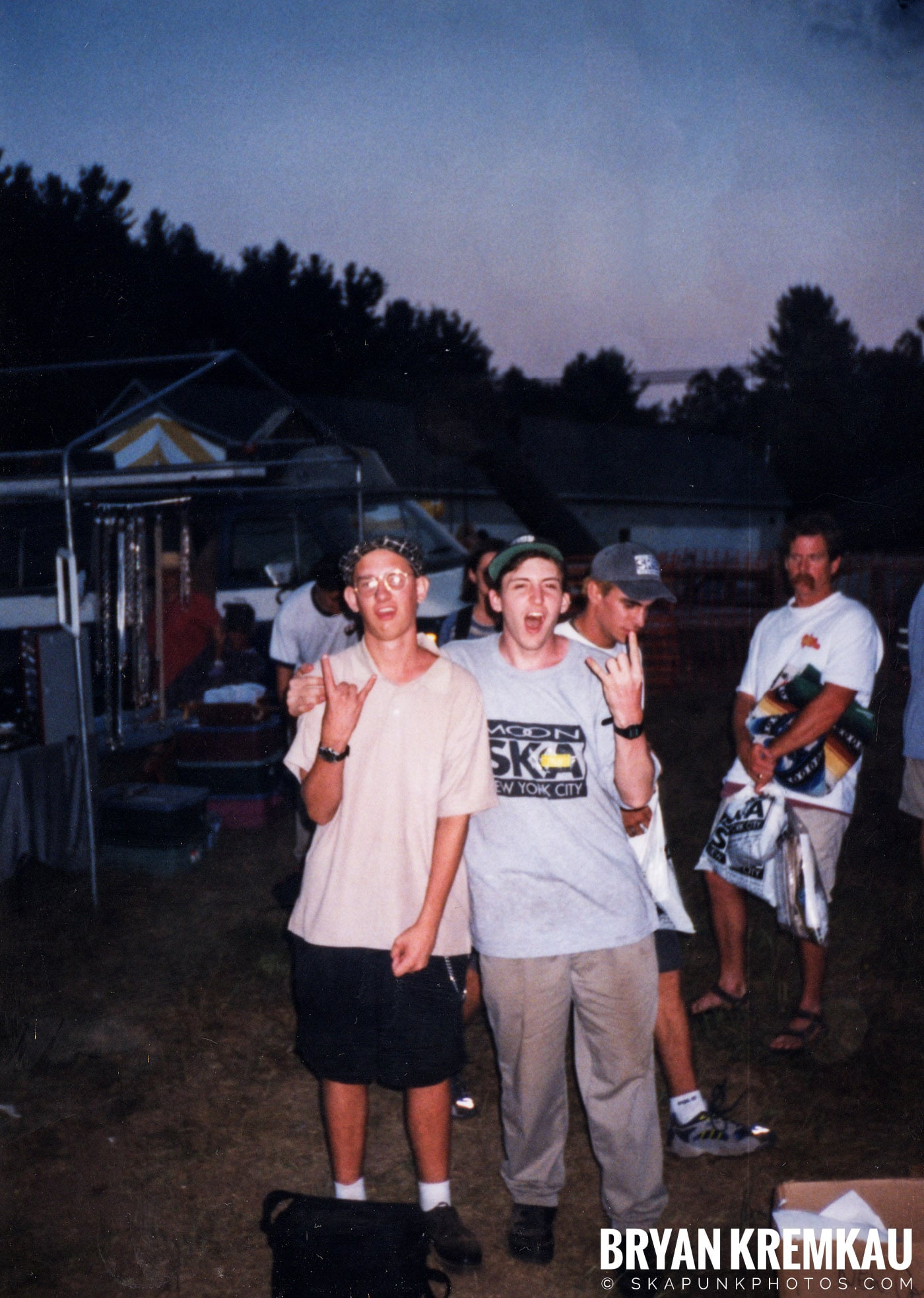 Crowd Shots @ New England Ska Fest 98, Westford, MA - 8.22.98 (3)