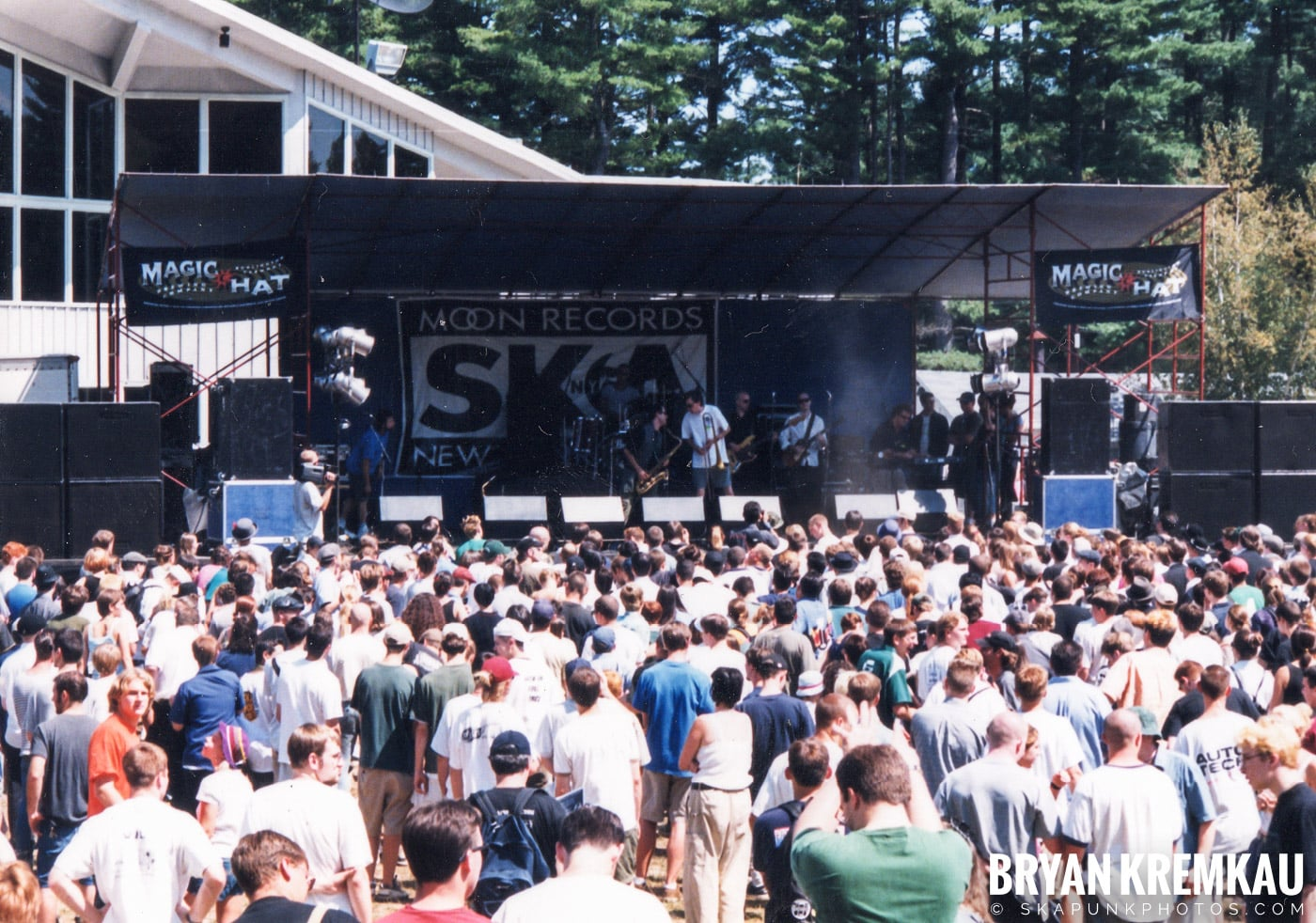 New York Ska Jazz Ensemble @ New England Ska Fest 98, Westford, MA - 8.22.98 (2)