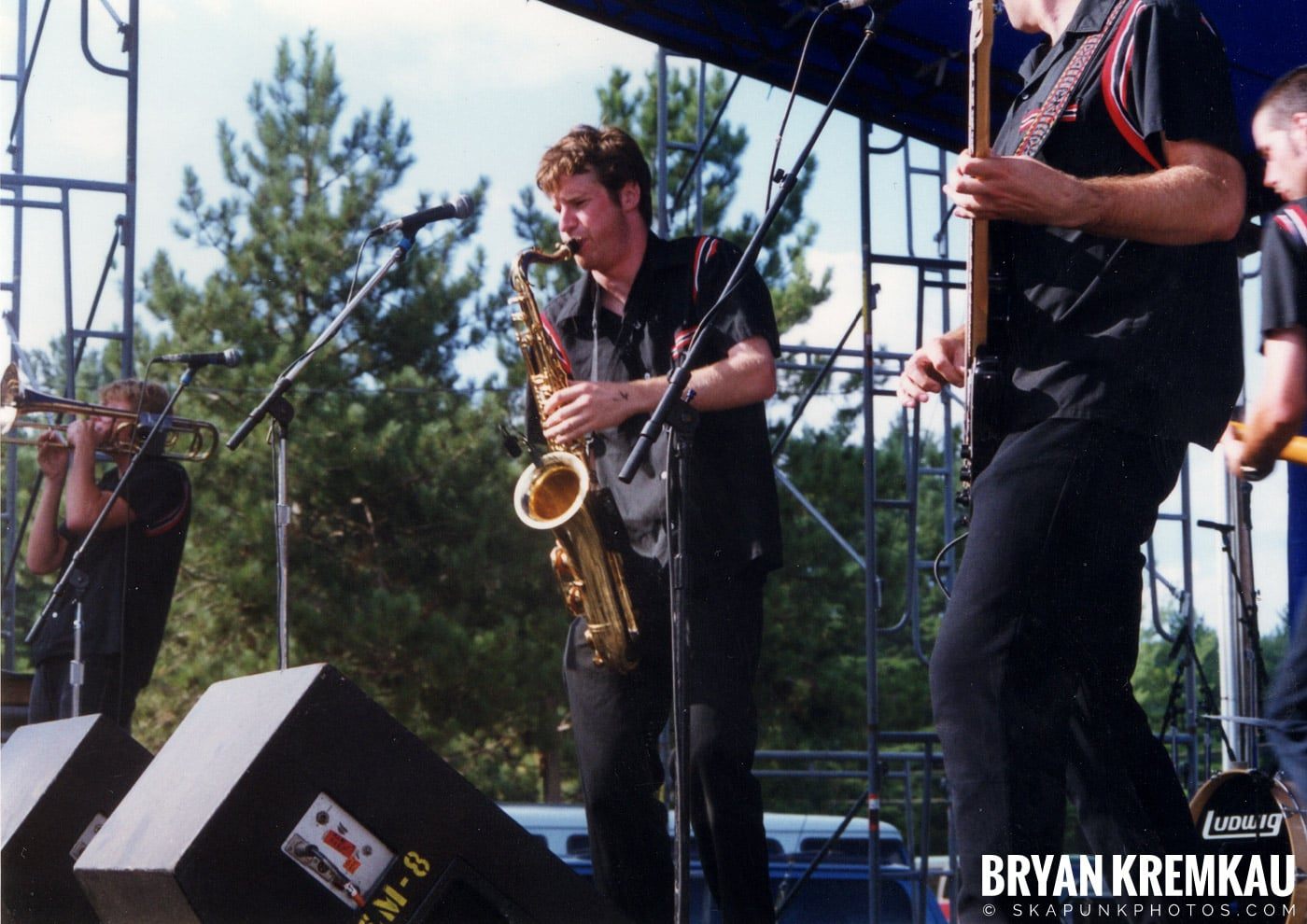 The Planet Smashers @ New England Ska Fest 98, Westford, MA - 8.22.98 (8)