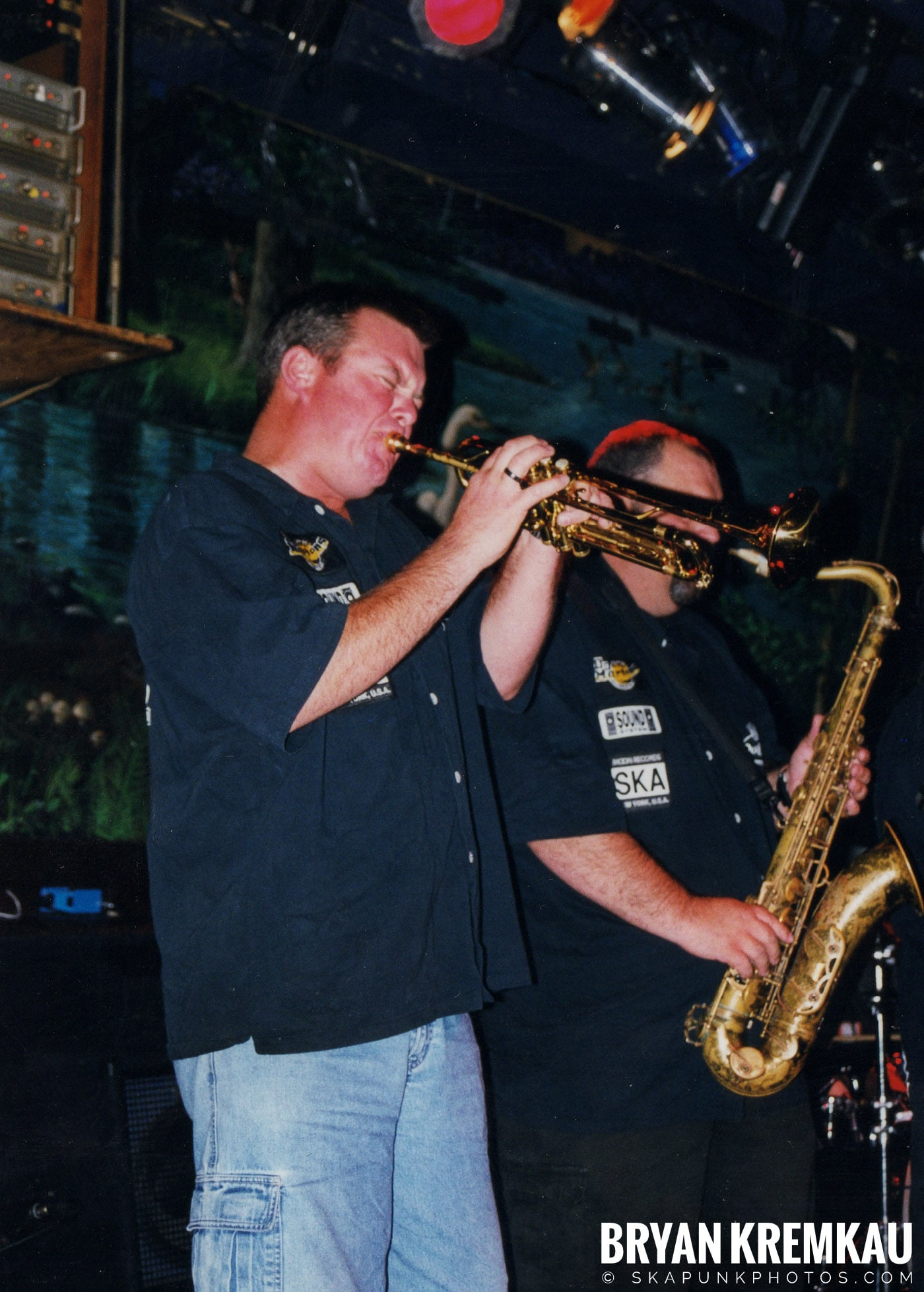 The Porkers @ Wetlands, NYC - 7.11.99 (15)